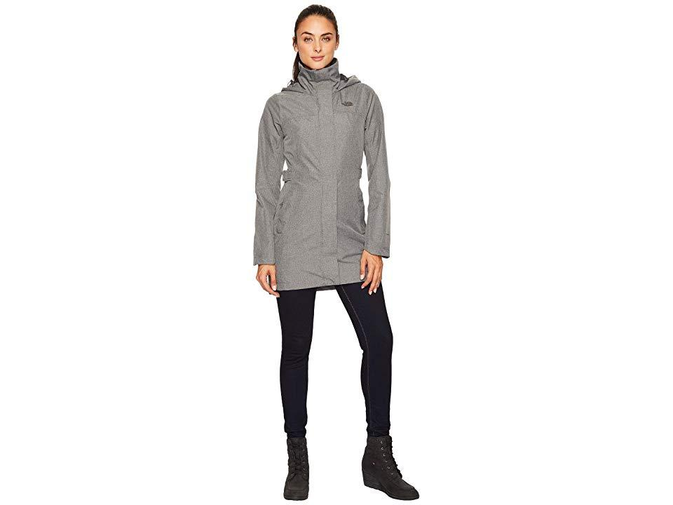 fbf0fce3c The North Face Laney Trench Ii (tnf Medium Grey Heather) Coat in ...