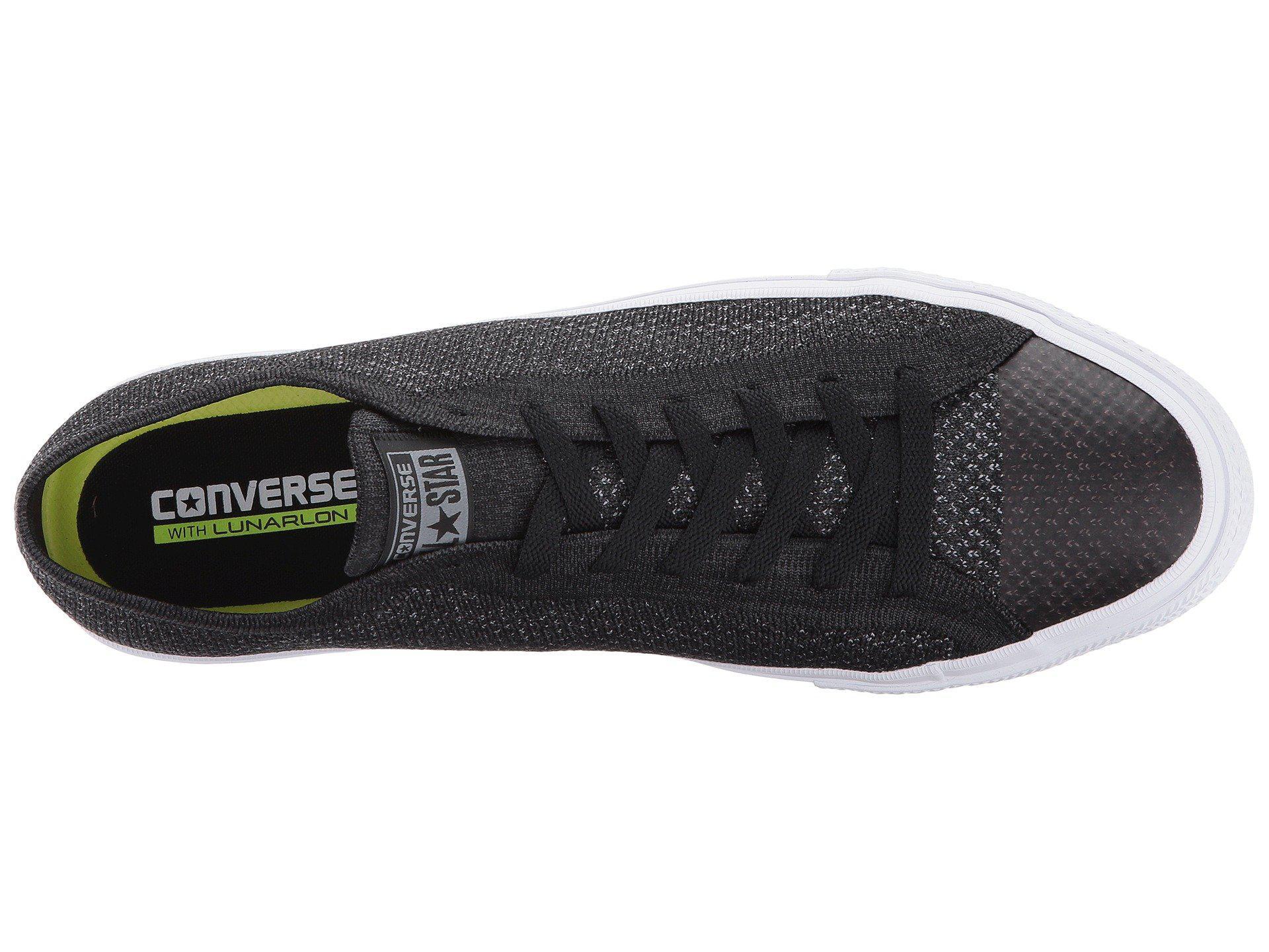 Lyst - Converse Chuck Taylor® All Star® X Nike Flyknit Ox in Black ... 70f0b5fc6