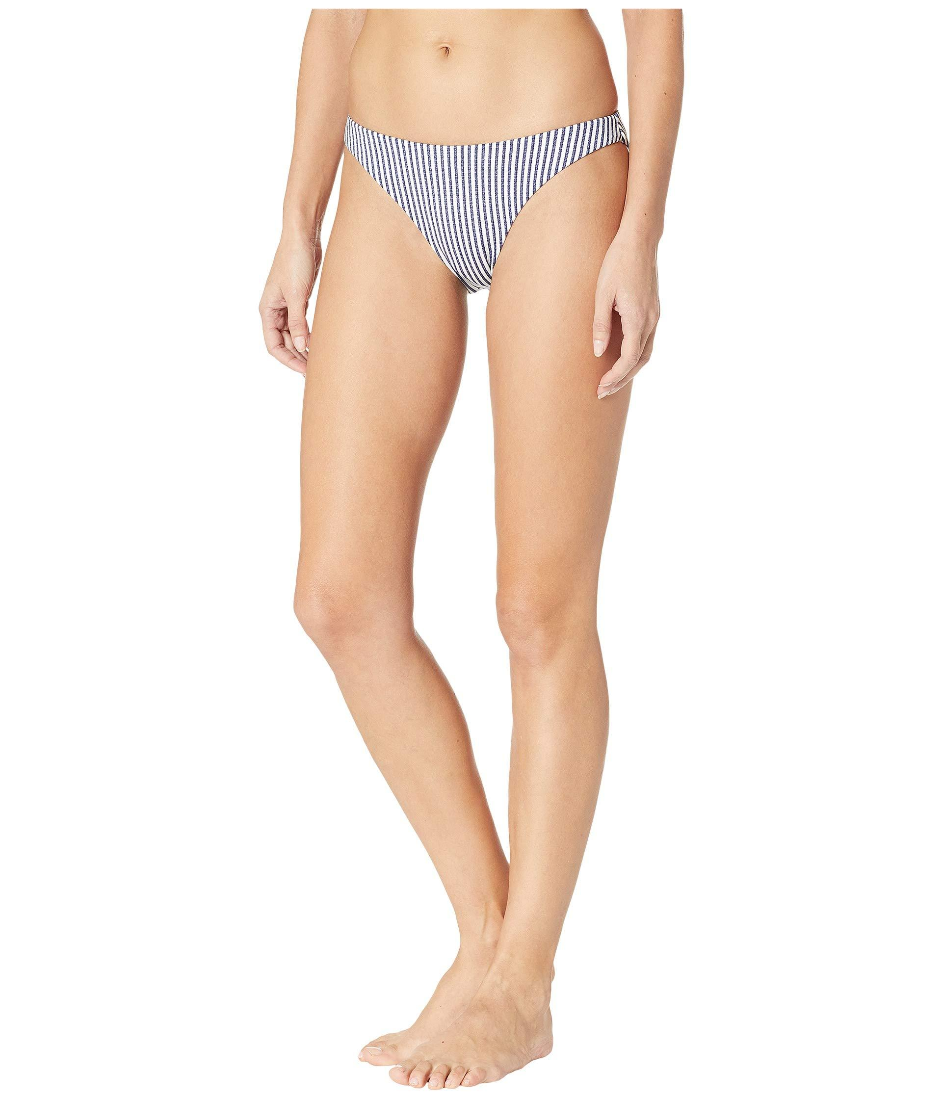 51e0b84d0b3 Lyst - Roxy Printed Softly Love Reversible Full Swimsuit Bottoms in Blue -  Save 23%