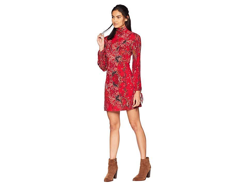 c736a28b0c0f6 Free People - All Dolled Up Mini Dress (red) Dress - Lyst. View fullscreen