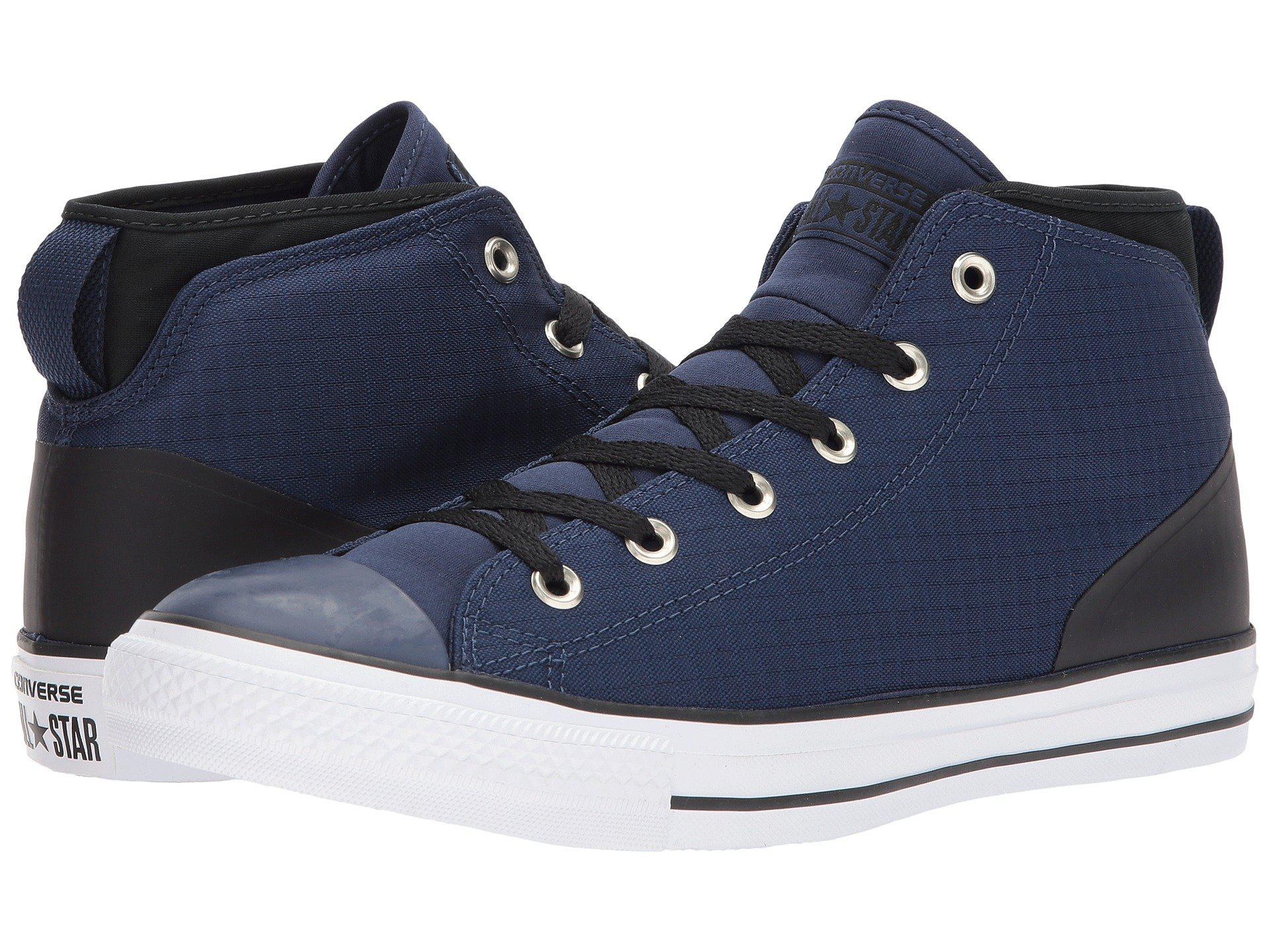 Lyst - Converse Chuck Taylor® All Star® Syde Street - Mid in Blue f03eff504