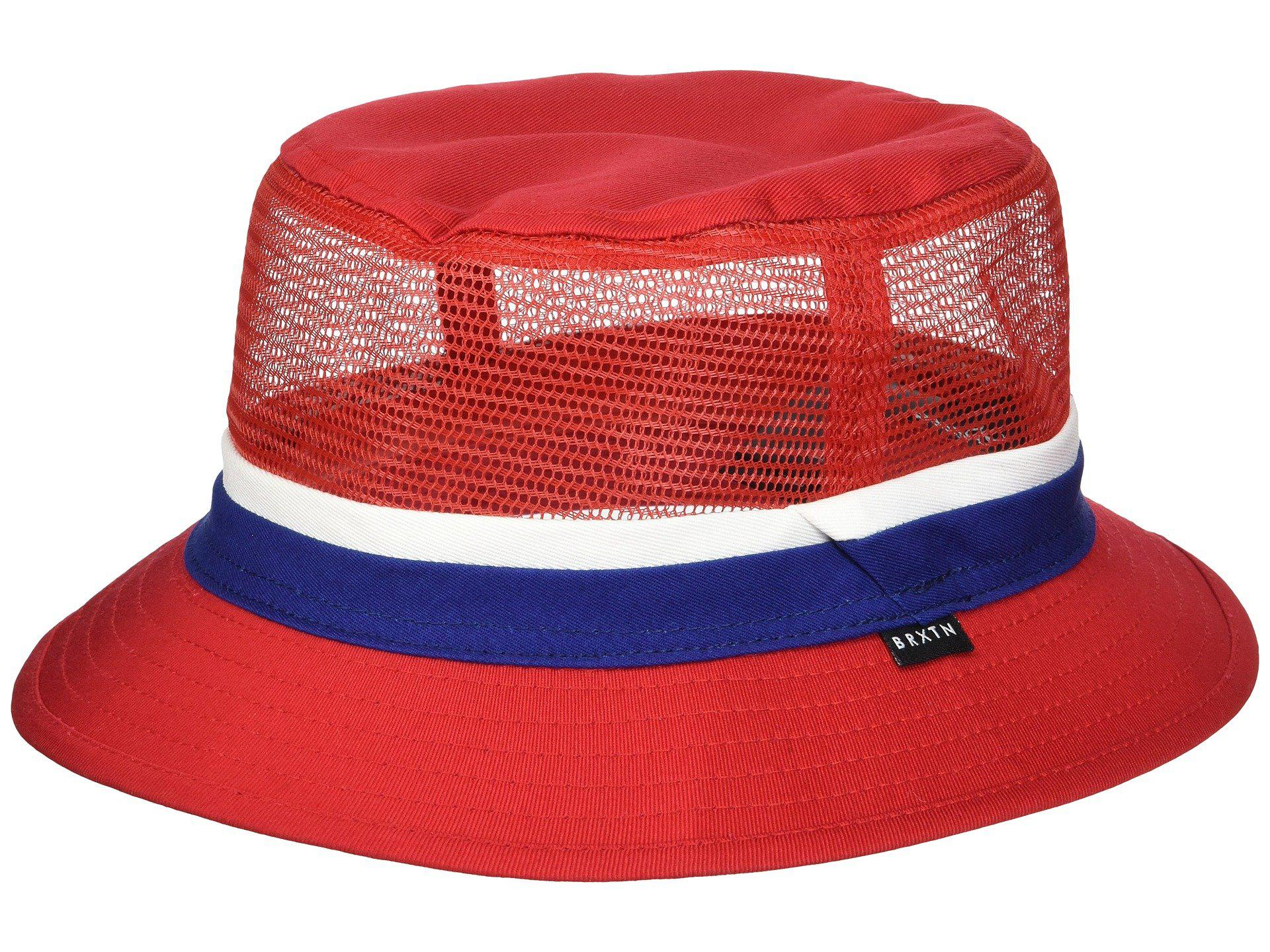 839e2fabb9beb6 ... cheapest brixton. womens red hardy bucket hat d845c c12c5