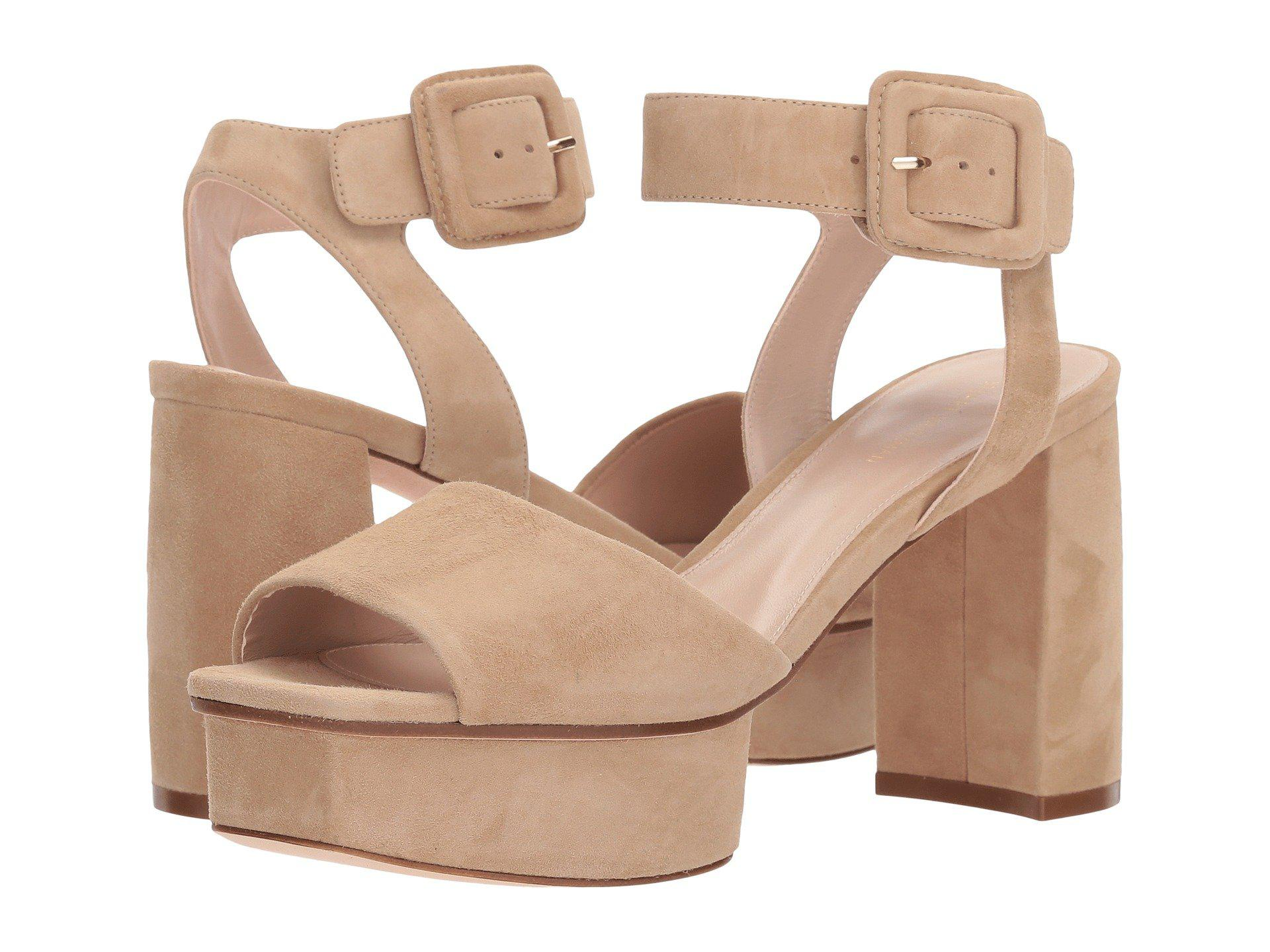 2f123d1126d Lyst - Stuart Weitzman Newdeal in Natural - Save 57%