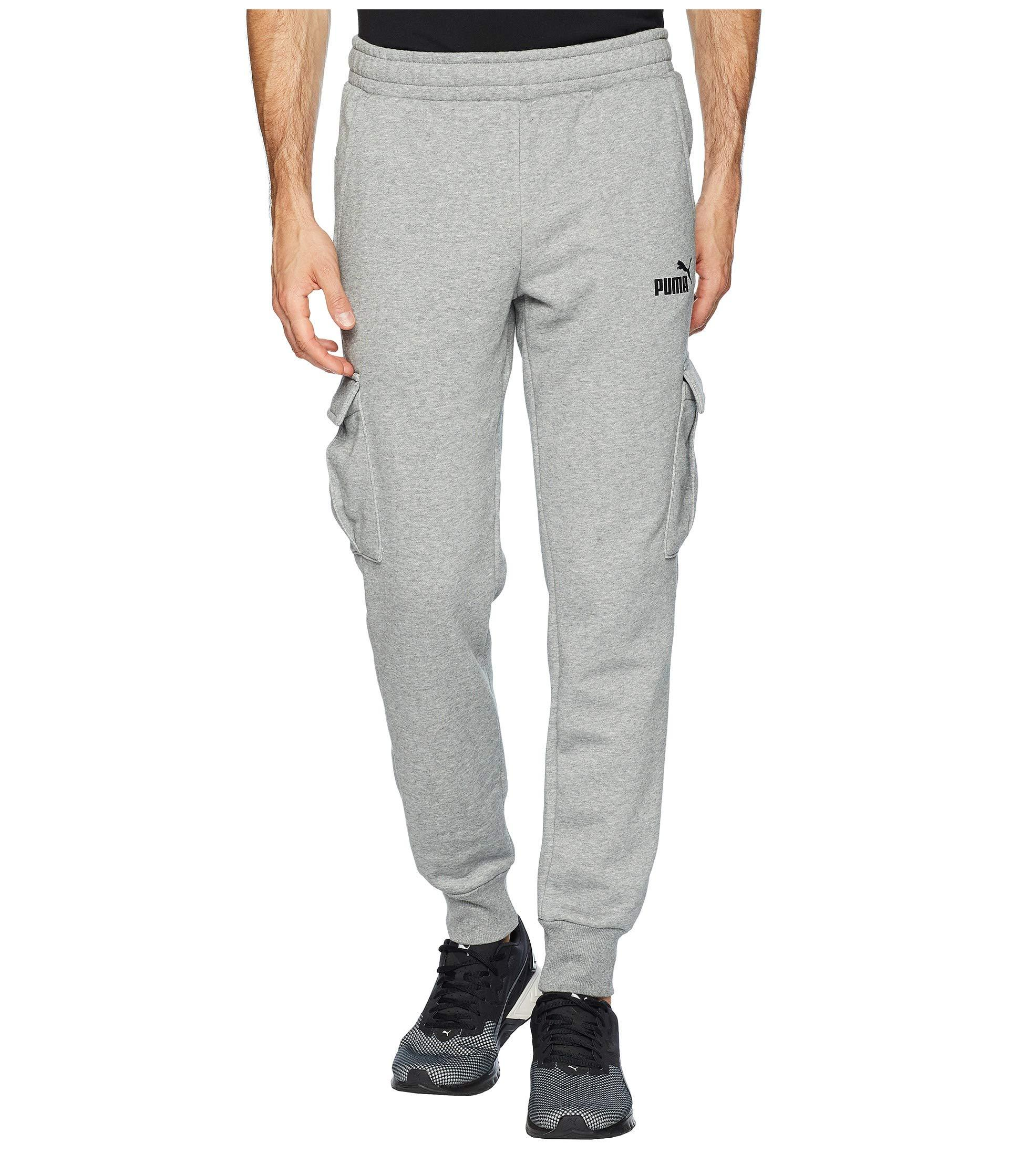 a114c34d526c Lyst - PUMA Ess+ Pocket Pants in Gray for Men