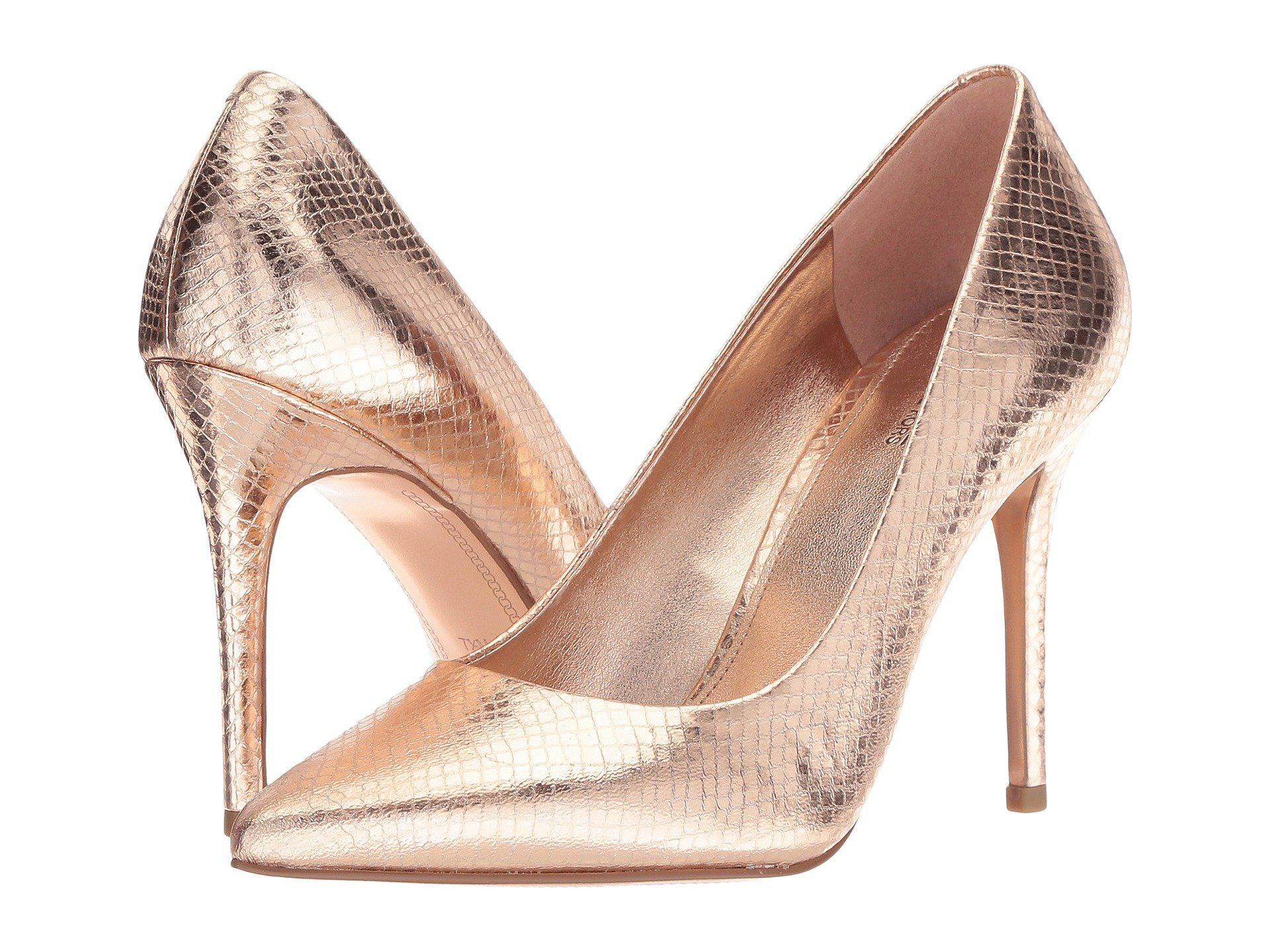 fcd58ff87eb Lyst - Michael Michael Kors Claire Pump in Pink