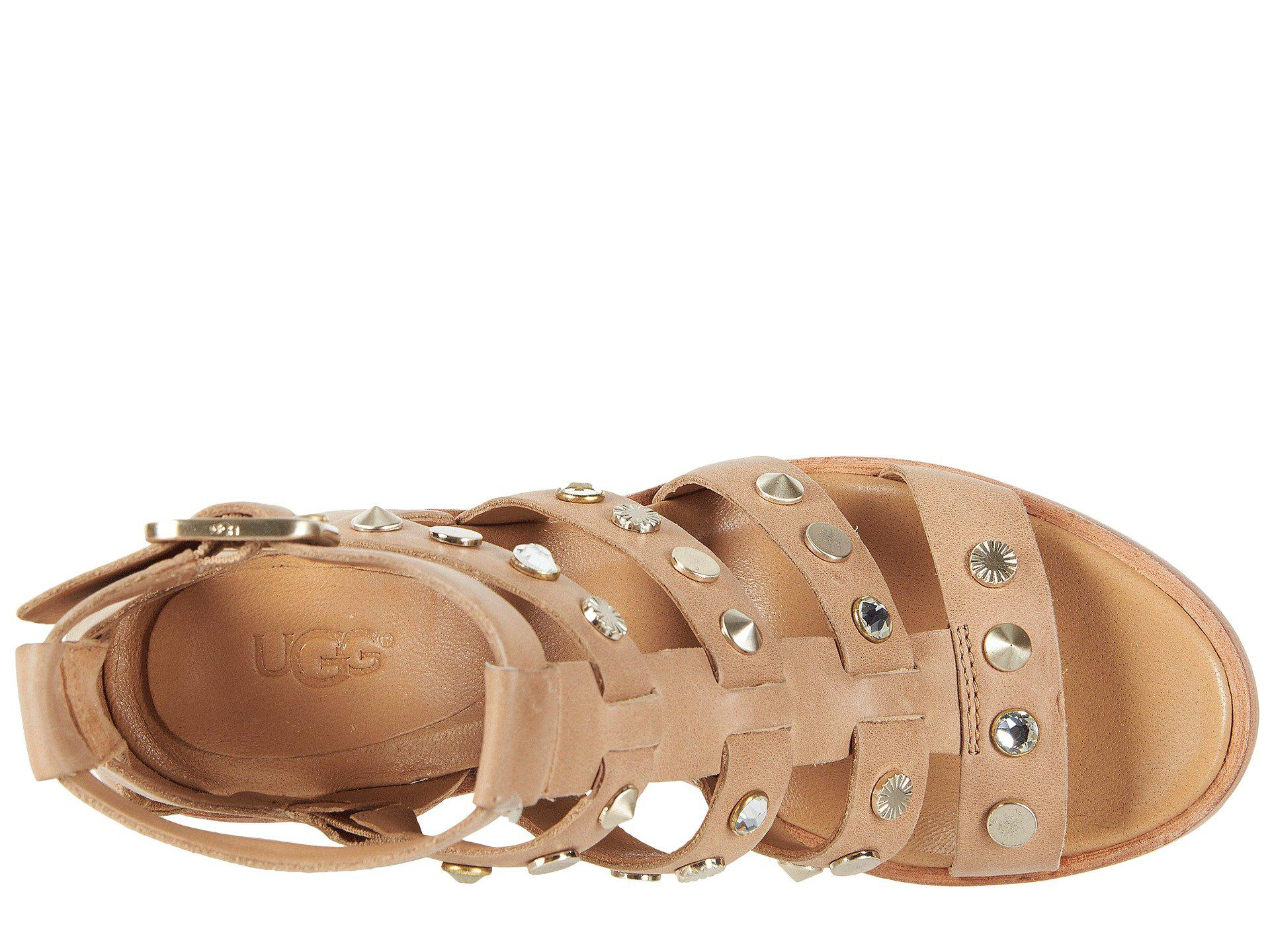 0bf25474b Ugg - Natural Macayla Studded Bling - Lyst. View fullscreen
