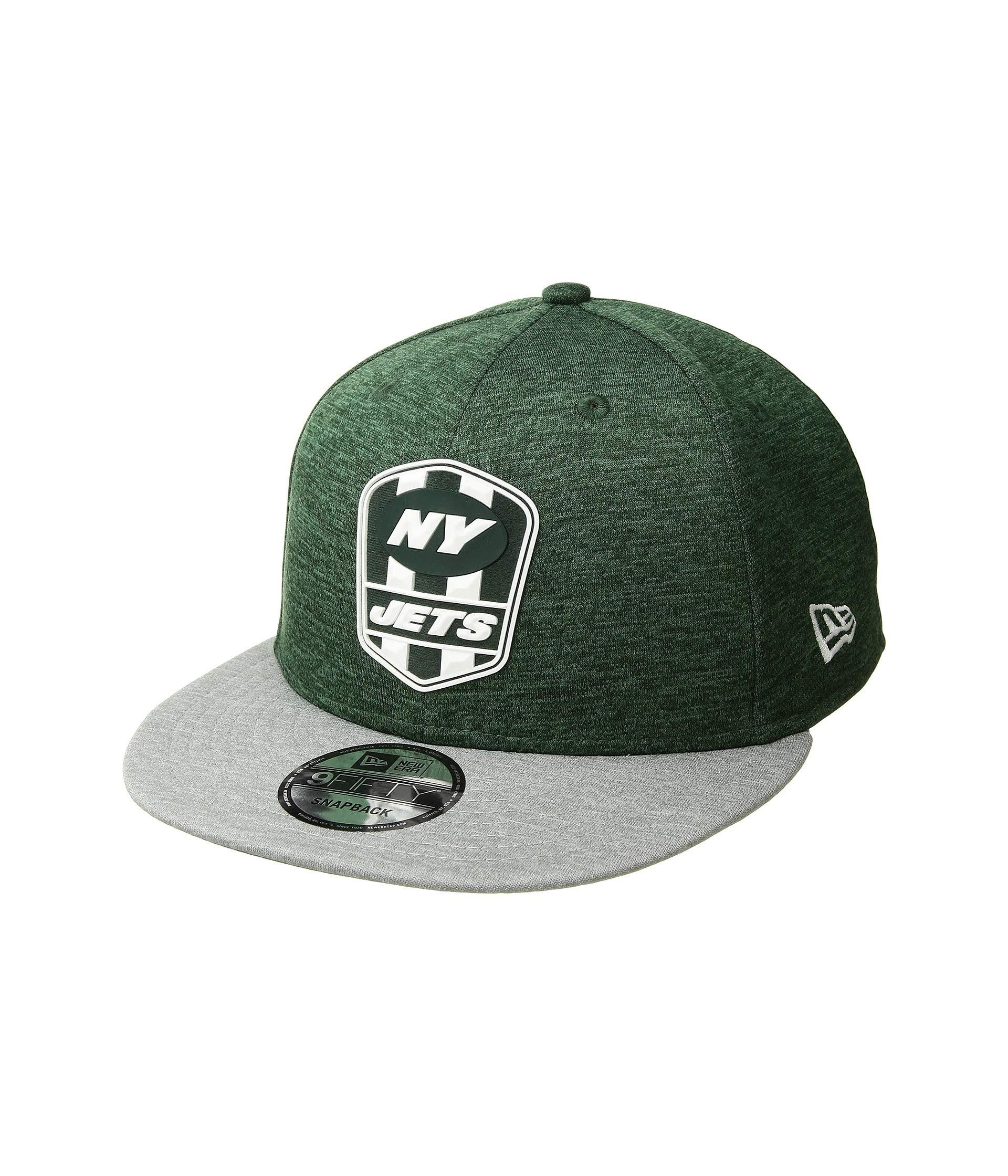 915005ca Lyst - KTZ 9fifty Official Sideline Away Snapback - New York Jets in ...
