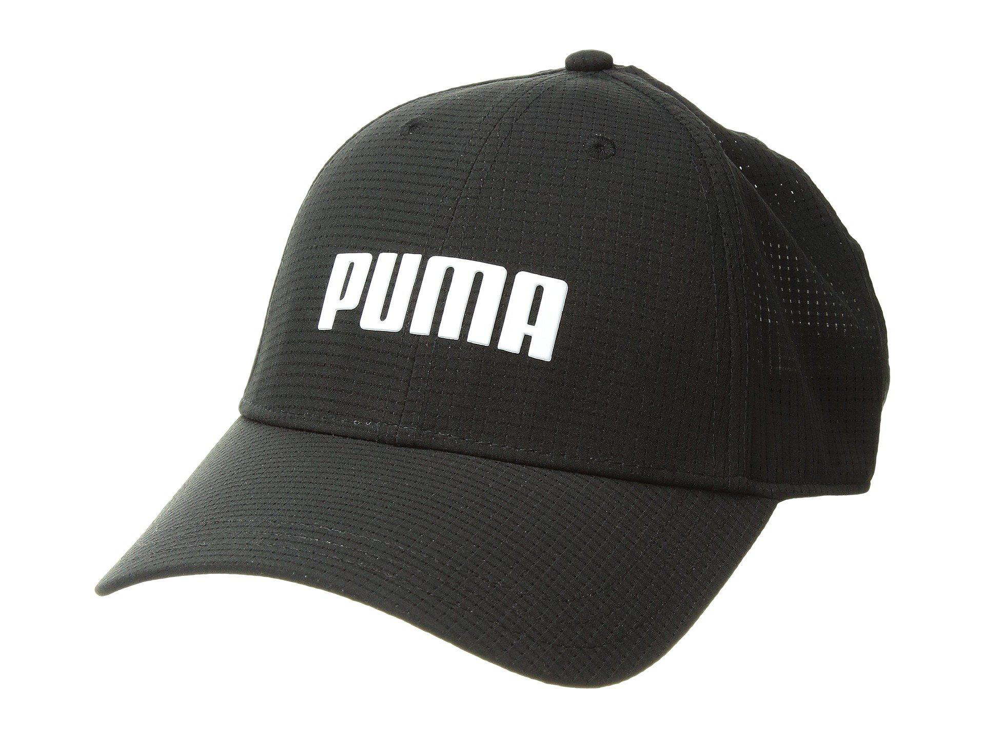 24f2d15cf1040 Lyst - PUMA Breezer Fitted Cap in Black for Men