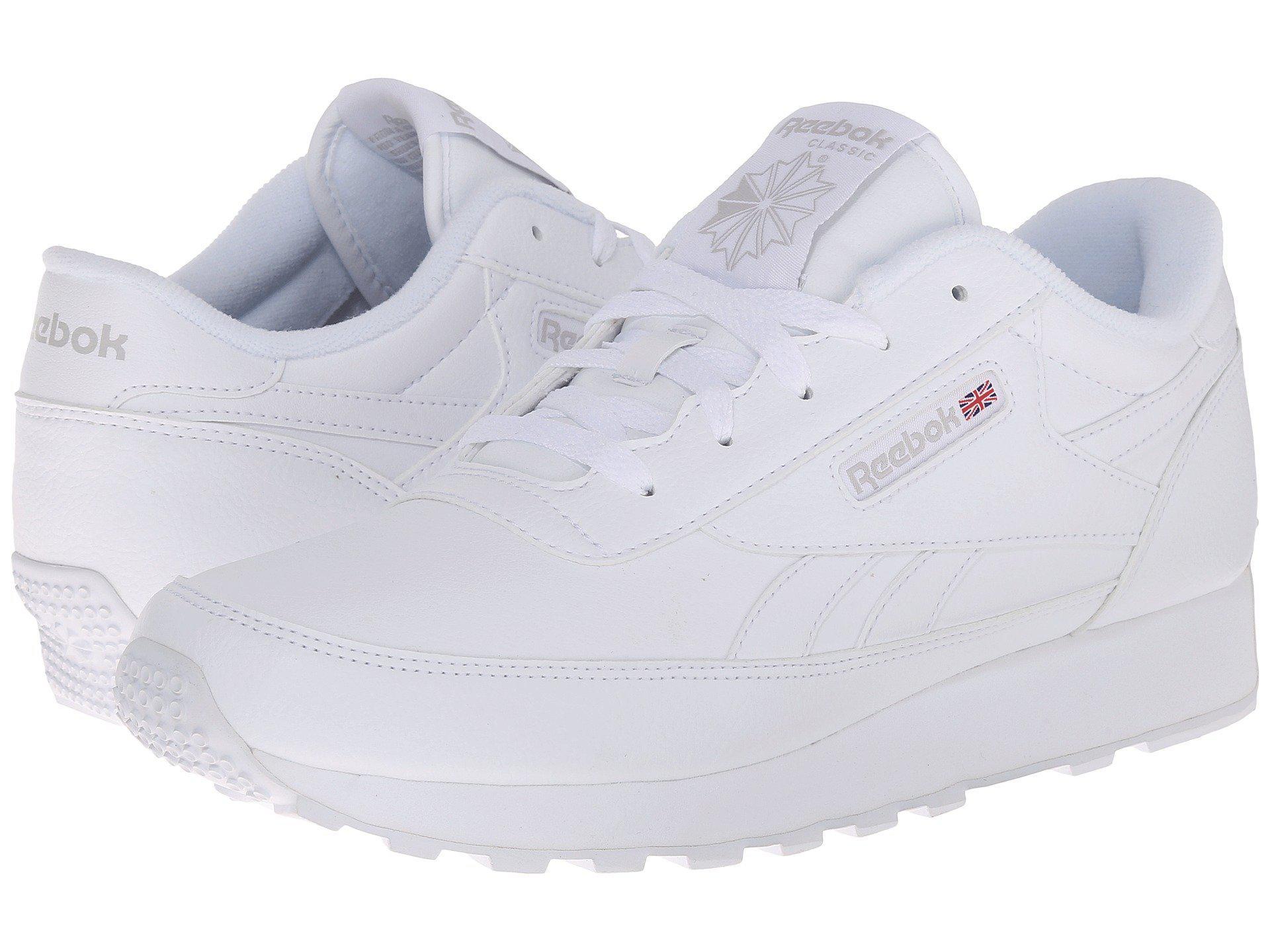 e79cca9c0e142d Lyst - Reebok Classic Renaissance in White