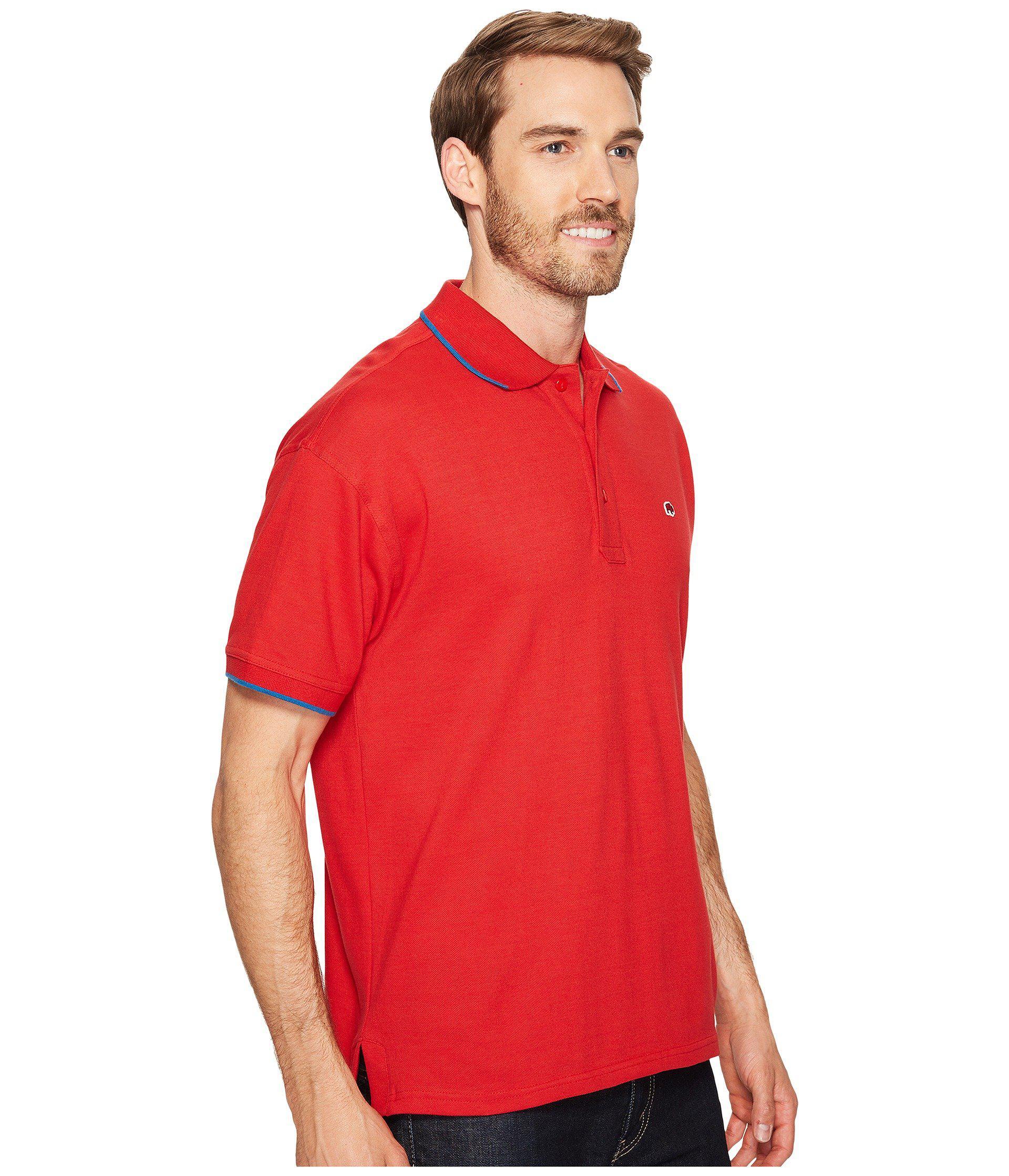 Mountain Khakis | Red Bison Polo Shirt for Men | Lyst. View Fullscreen