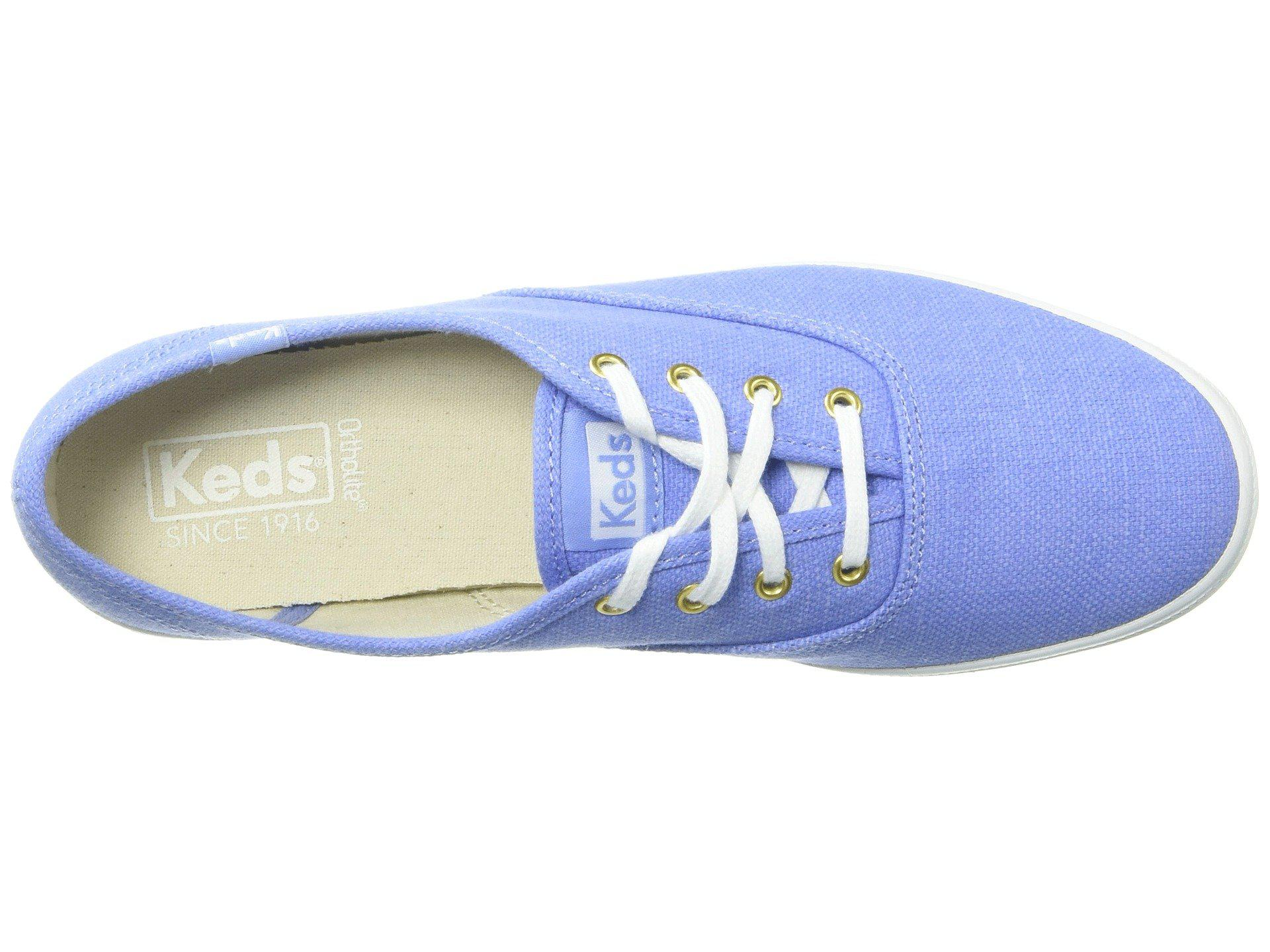 7e065b936f7f Keds - Blue Champion Chalky Canvas - Lyst. View fullscreen