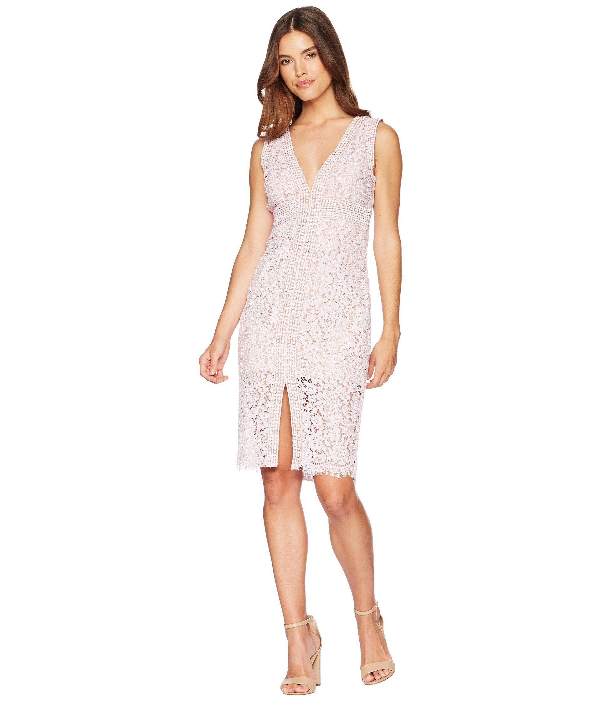 Lyst - Bardot Morgan Lace Dress - Save 14% af2eaf10c