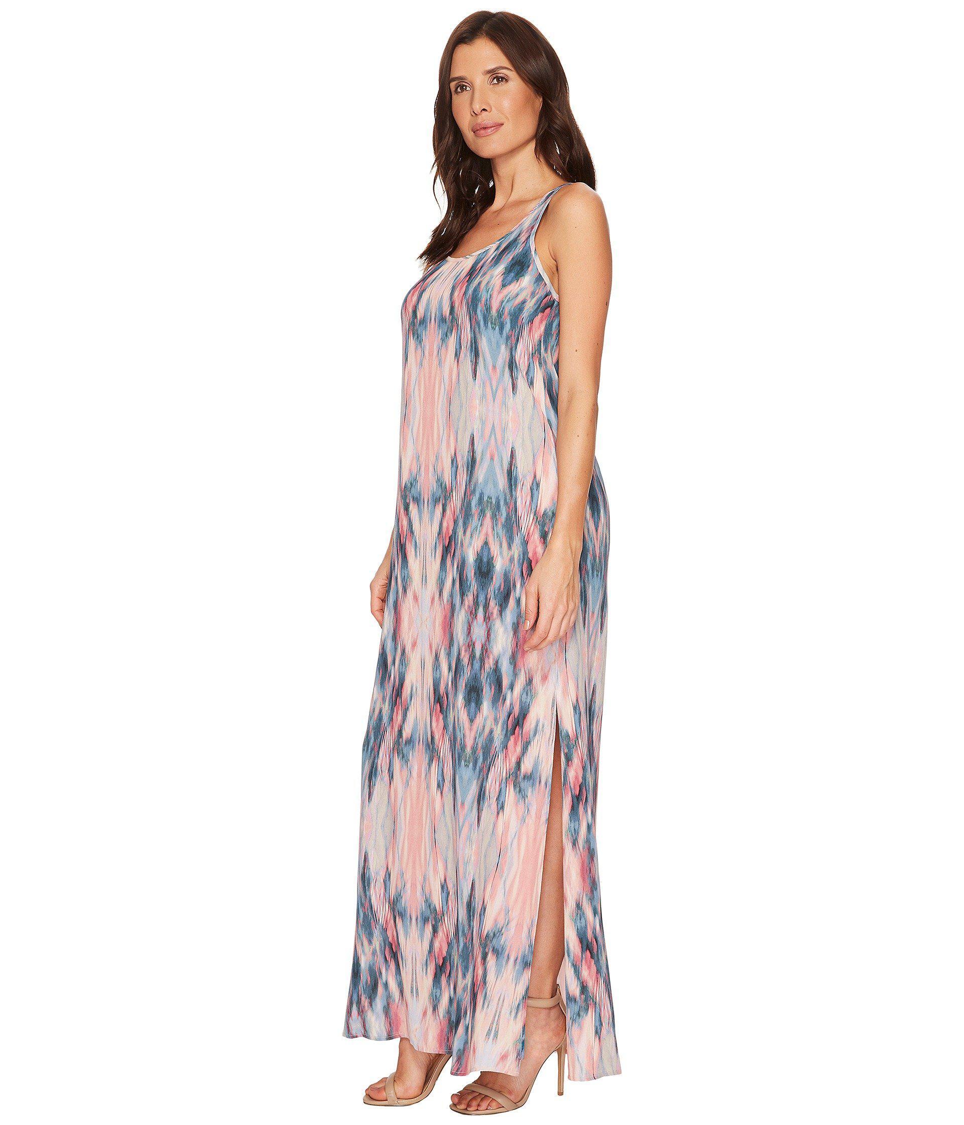 d7eed09686a Lyst - Karen Kane Side Slit Maxi Dress - Save 32%
