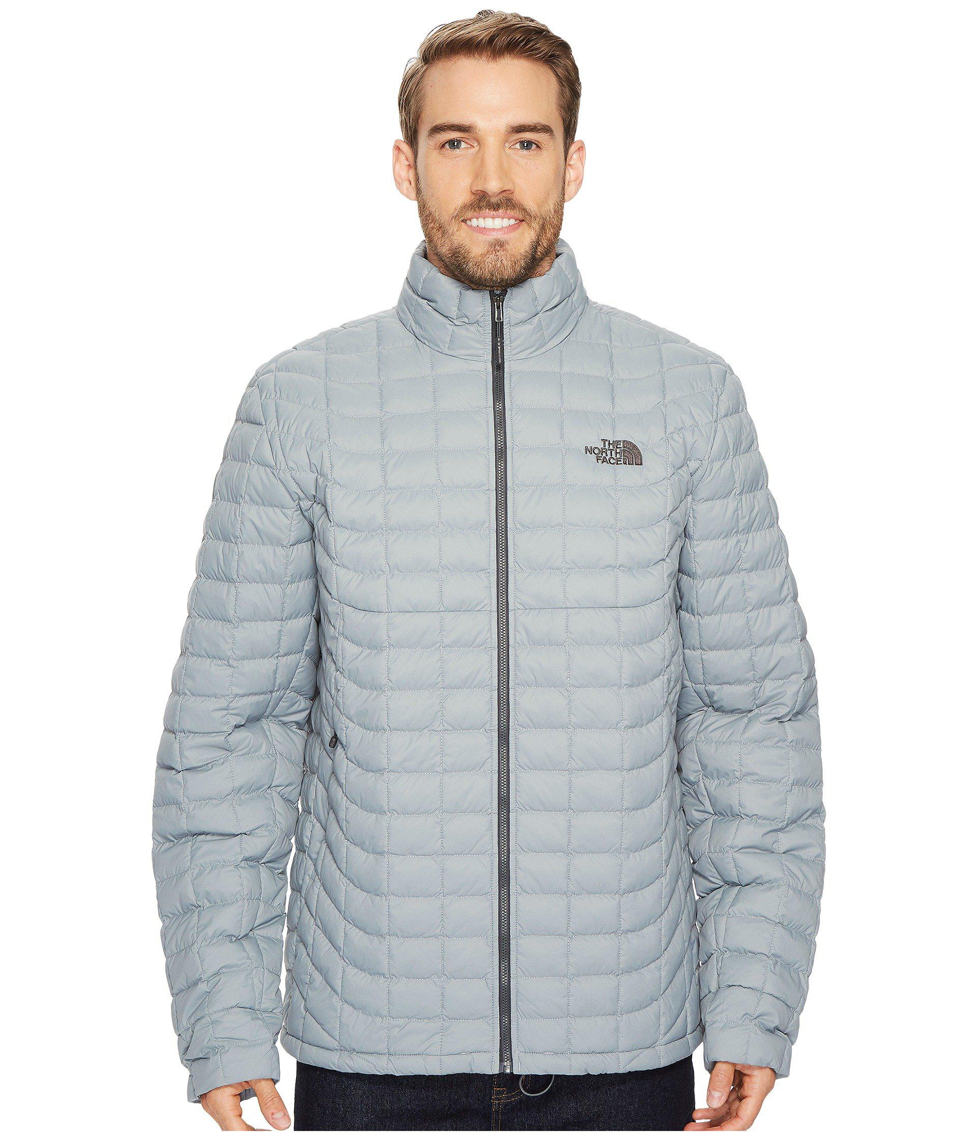 0734ed9310 Lyst - The North Face Thermoball Jacket - Tall in Gray for Men ...
