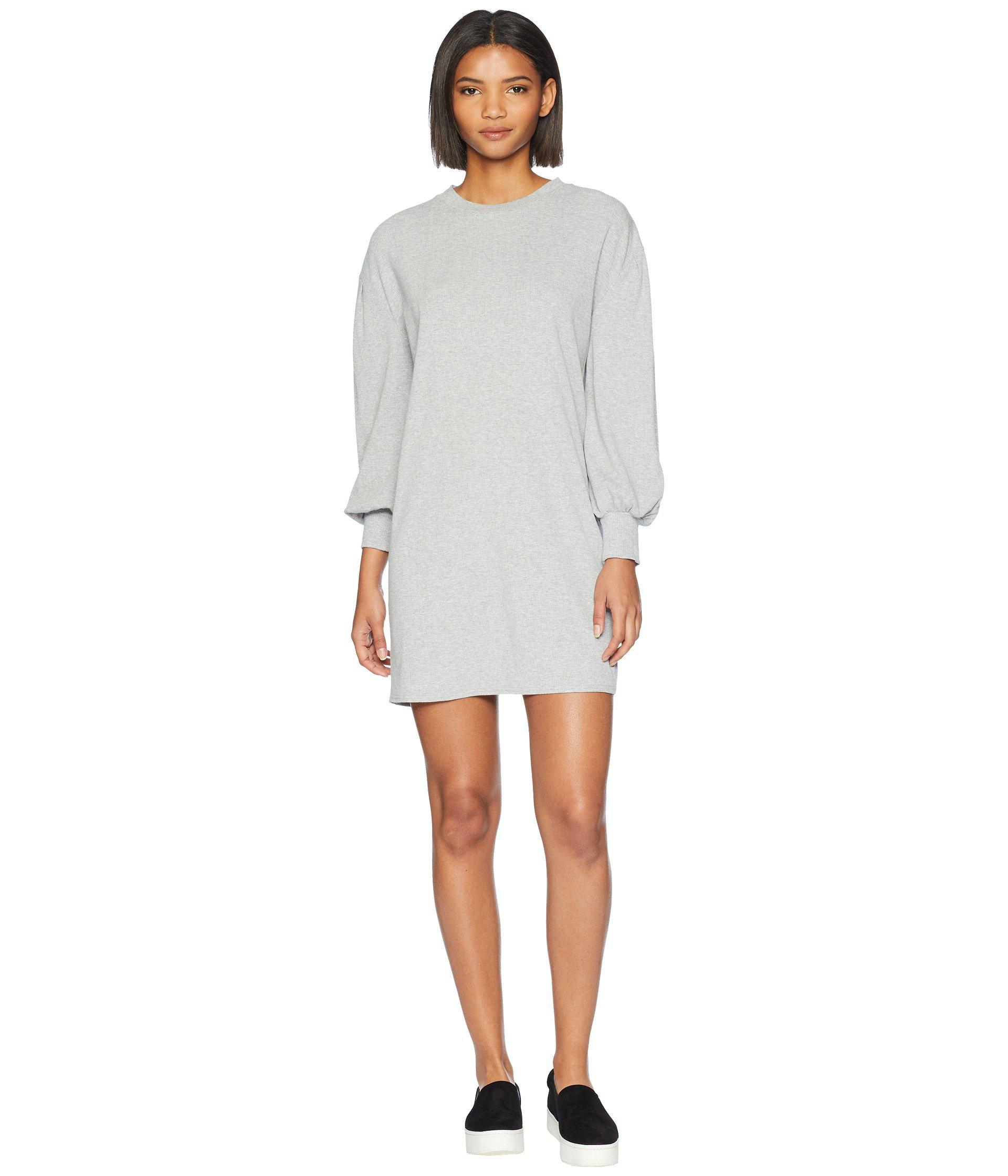 41d77f3176 Lyst - Volcom Lil Long Sleeve Dress in Gray - Save 64%