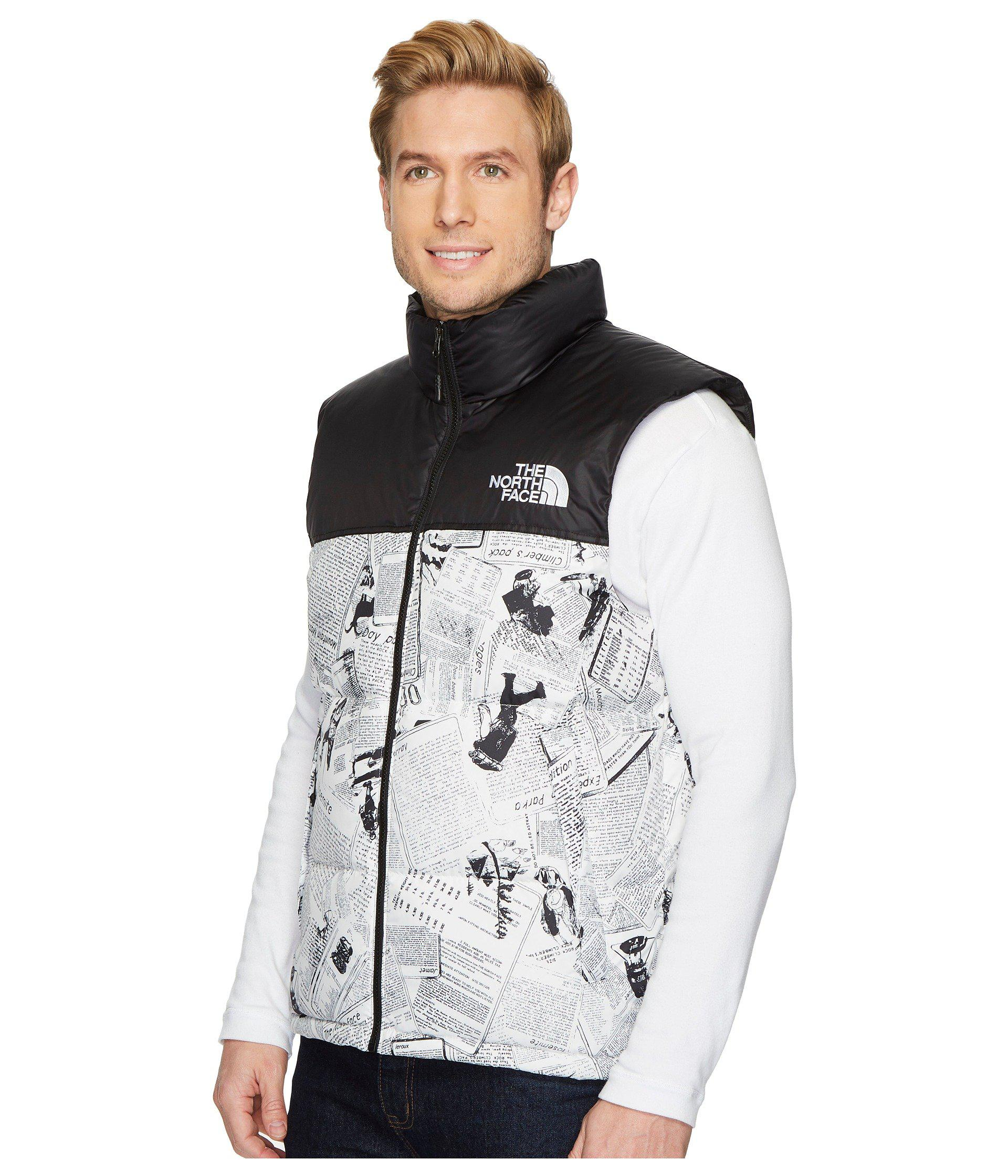 f8aec2d46d ... Lyst - The North Face Novelty Nuptse Vest for Men - Save  28.799999999999997% ...