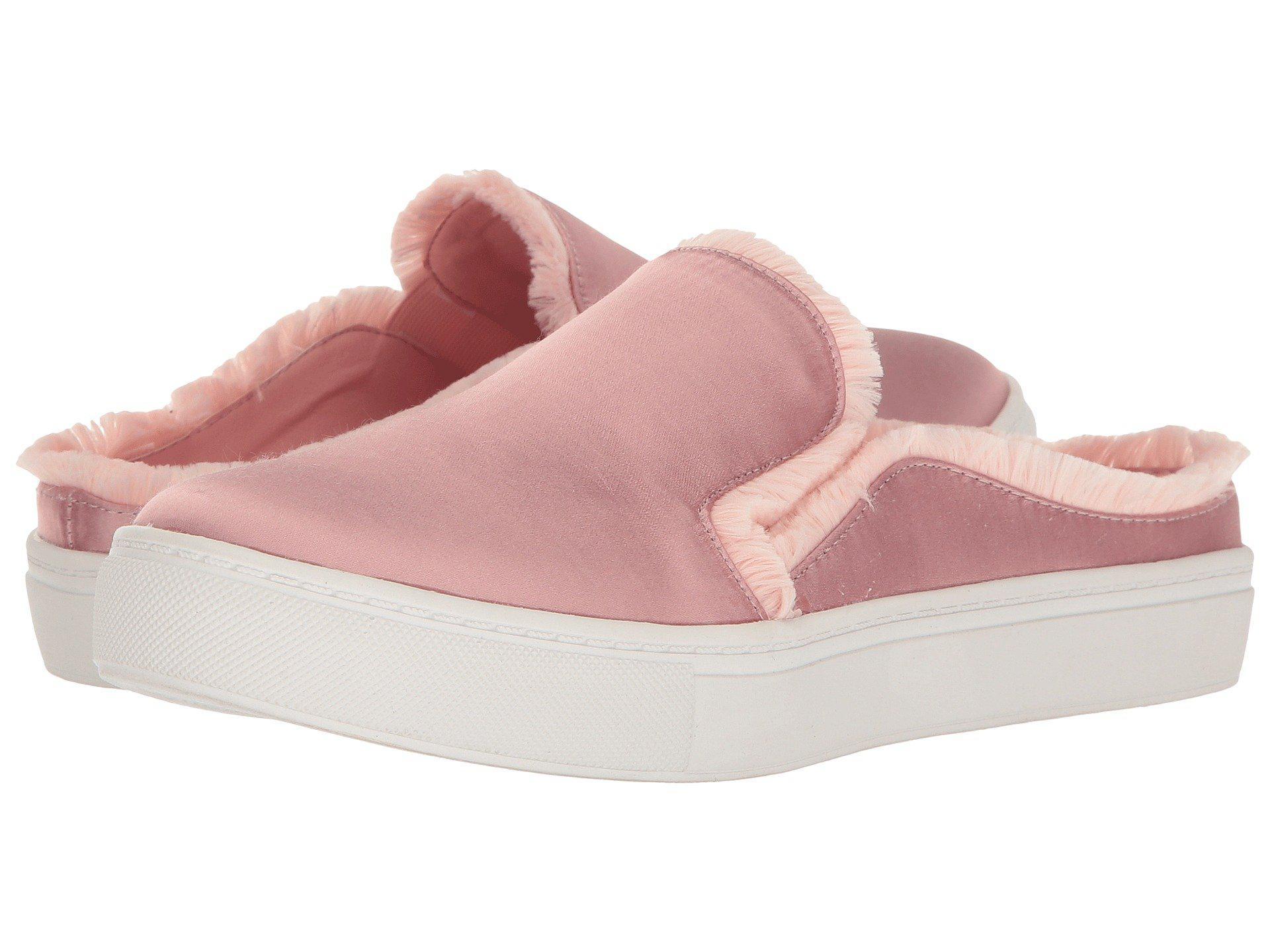 2c53d807fa6fa4 Lyst - Dirty Laundry Jaxon Satin Mule Sneaker in Pink - Save ...