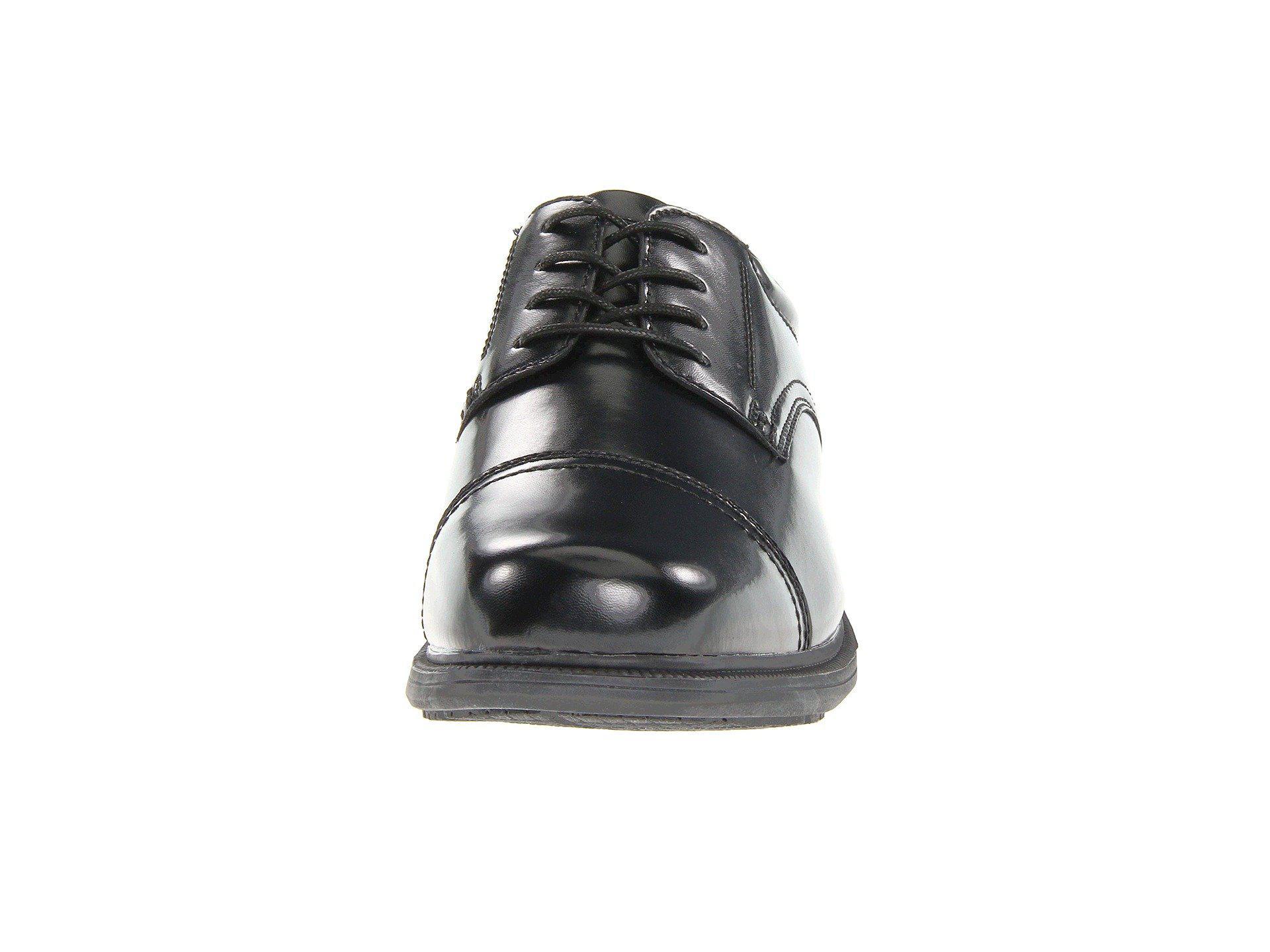 6c2c132bae Lyst - Nunn Bush Beale St. Cap Toe Oxford in Black for Men