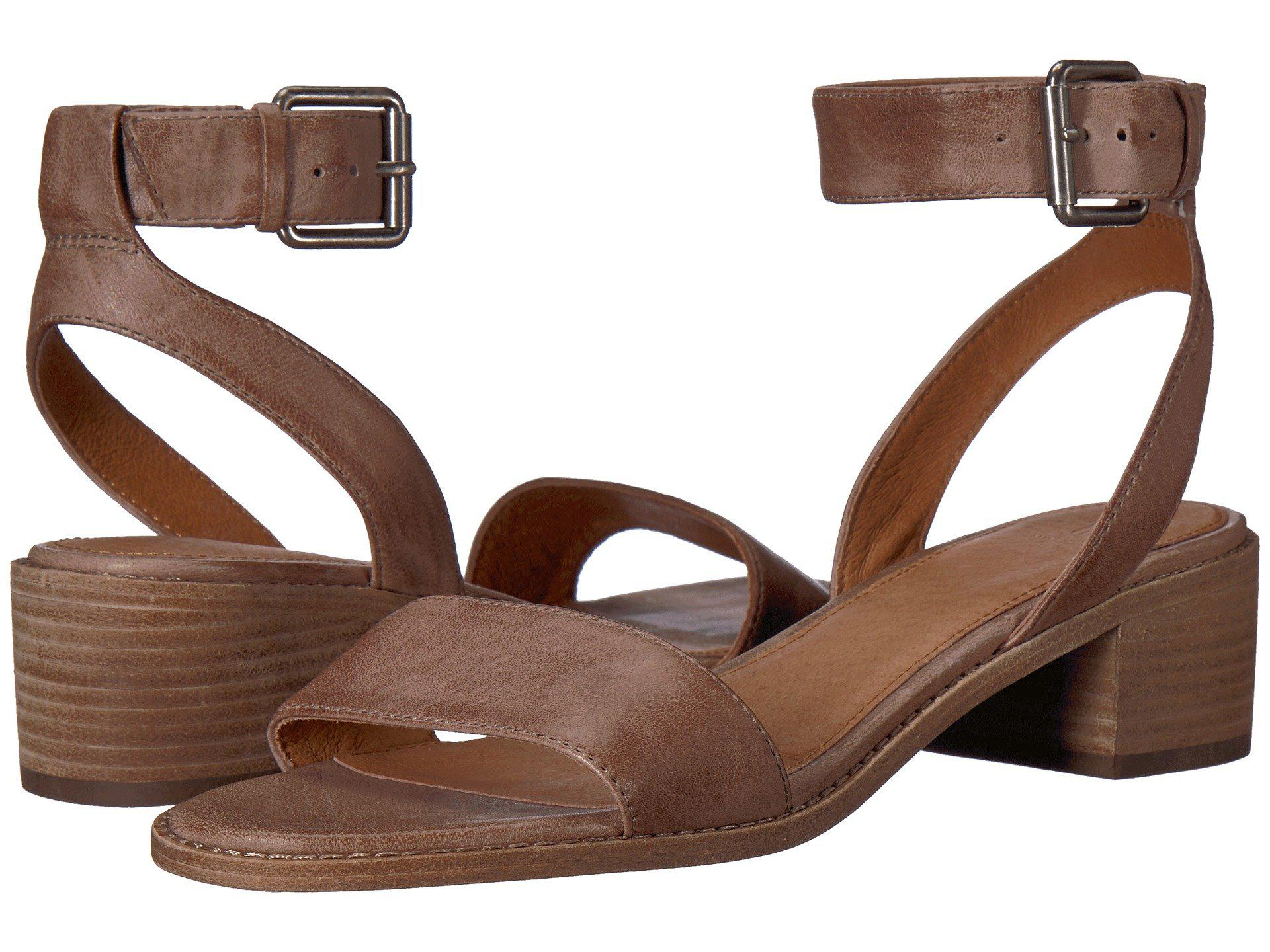 0133b4bc030 Lyst - Frye Cindy 2 Piece Heeled Sandal in Gray - Save 60%