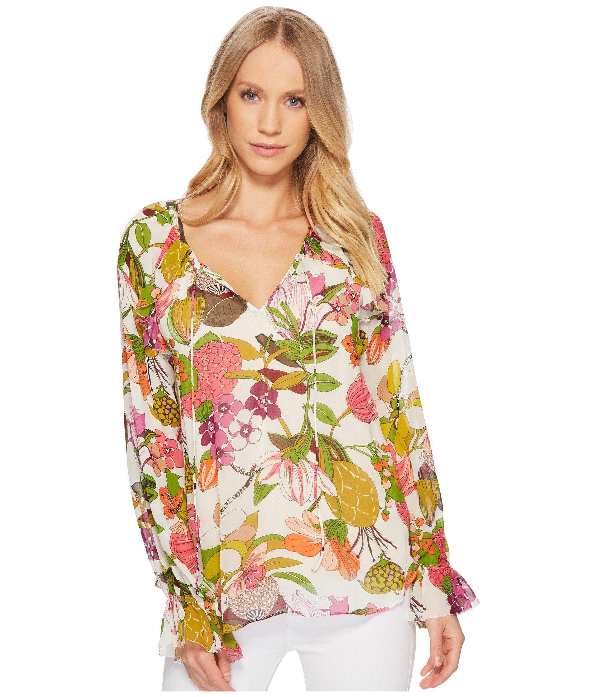2f86efbd5c6bb6 Lyst - Trina Turk Magnolia Top - Save 70%