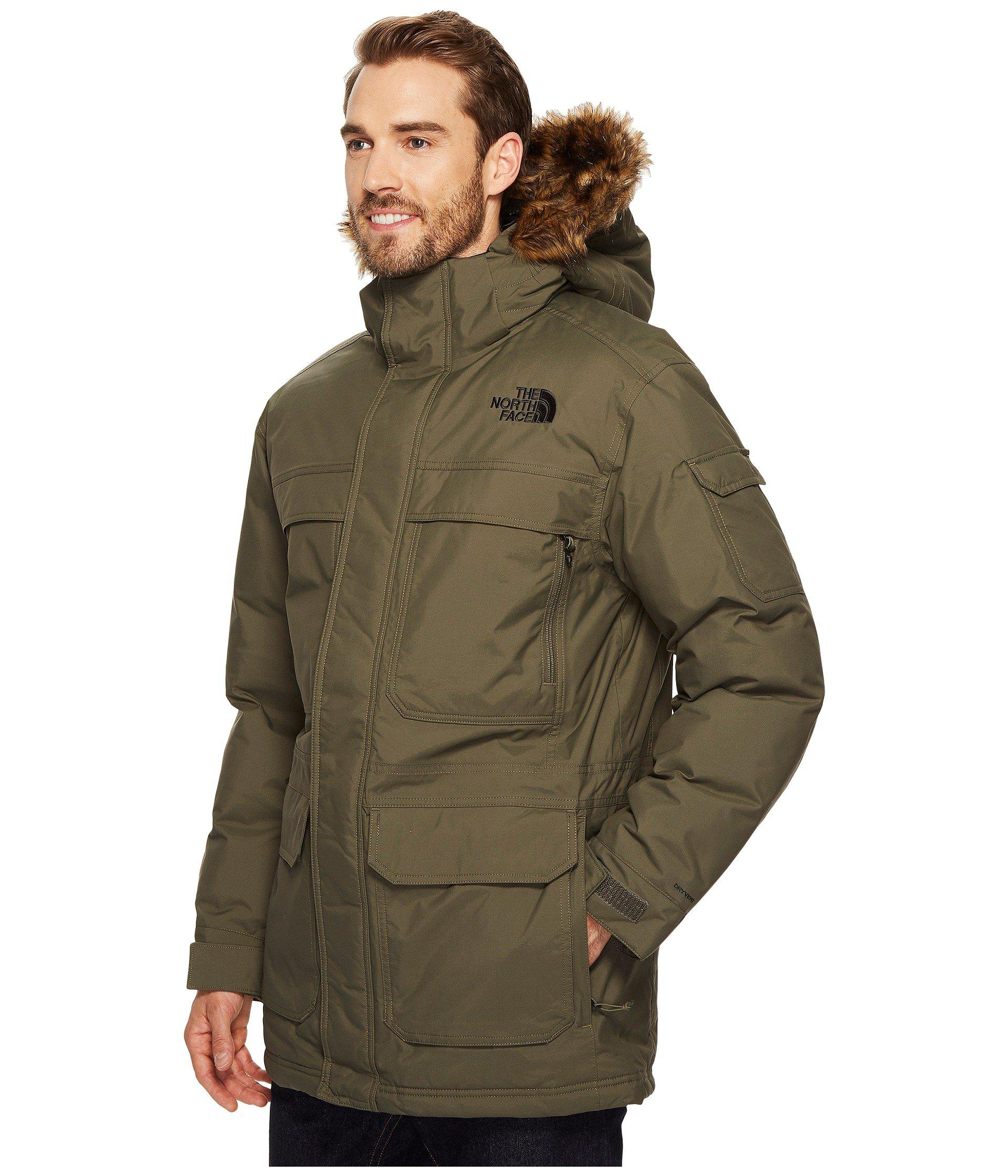 db527c0a35730 The North Face Mcmurdo Parka Iii in Green for Men - Lyst