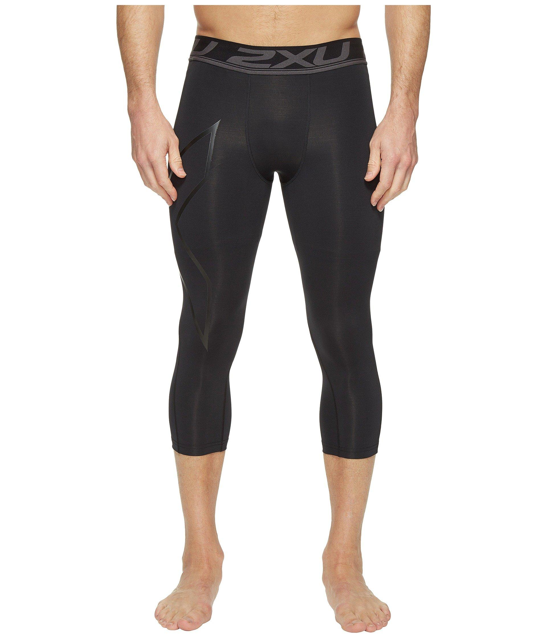 5b35255ef0 Lyst - 2XU Accelerate Compression 3/4 Tights in Black for Men - Save ...