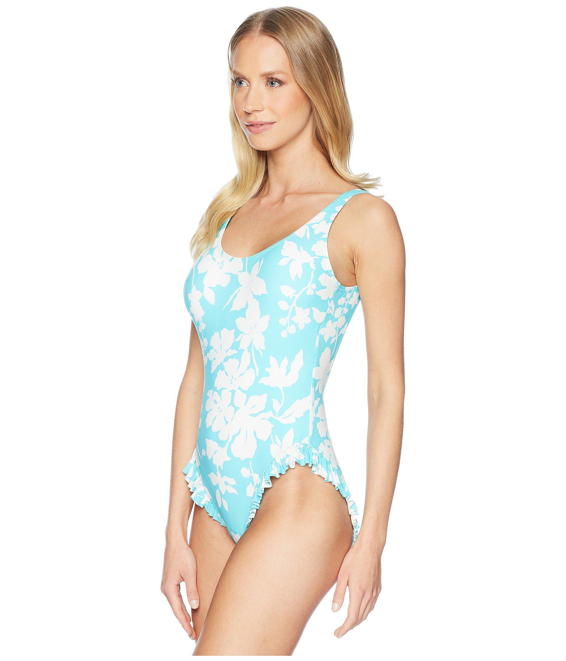 a44c50a856592 Lyst - MICHAEL Michael Kors Floral Vine One-piece Swimsuit W  High ...