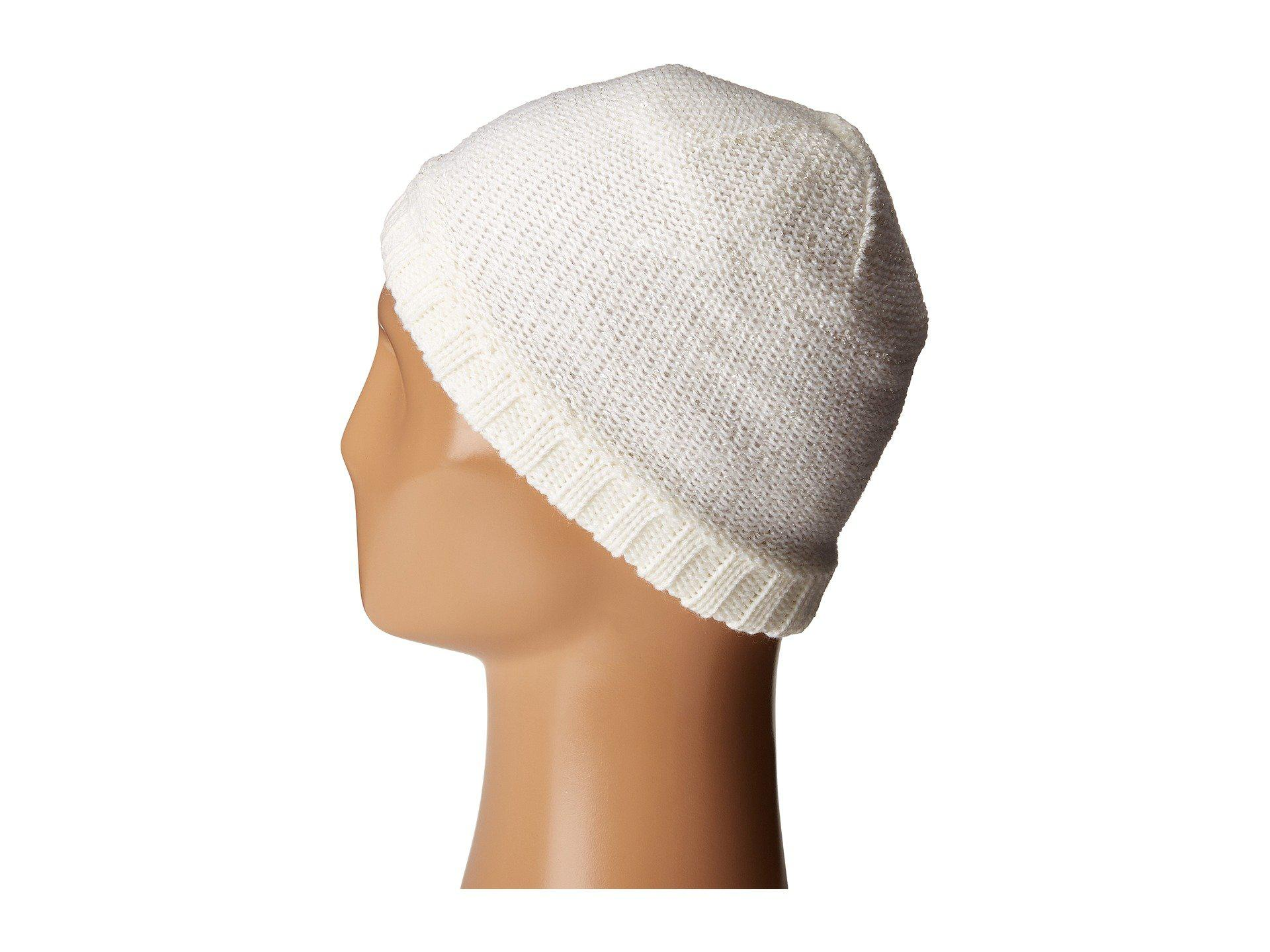 d0e635ffcd6 Lyst - Spyder Shine Hat in White