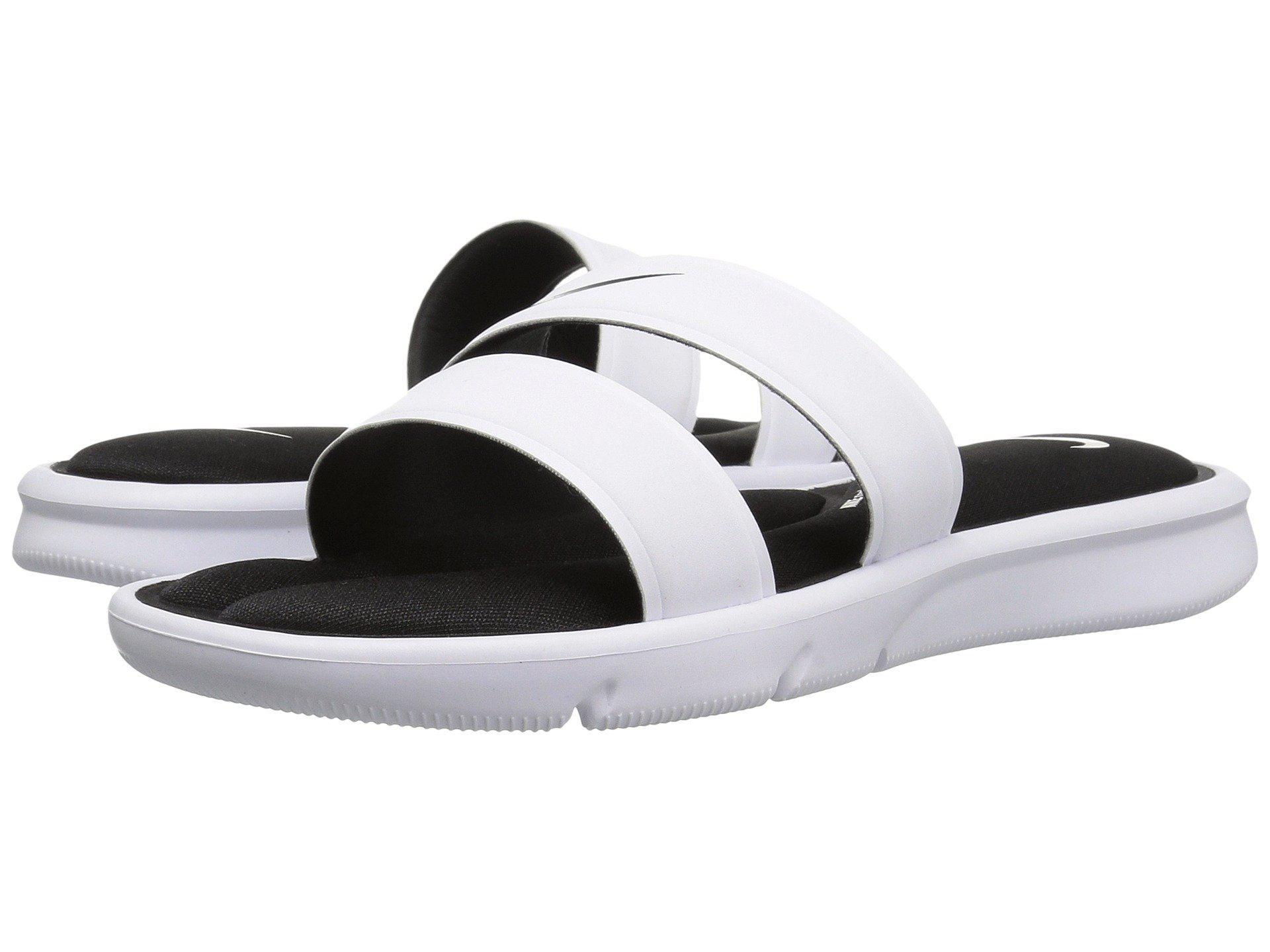 80d45886c Lyst - Nike Ultra Comfort Slide in White
