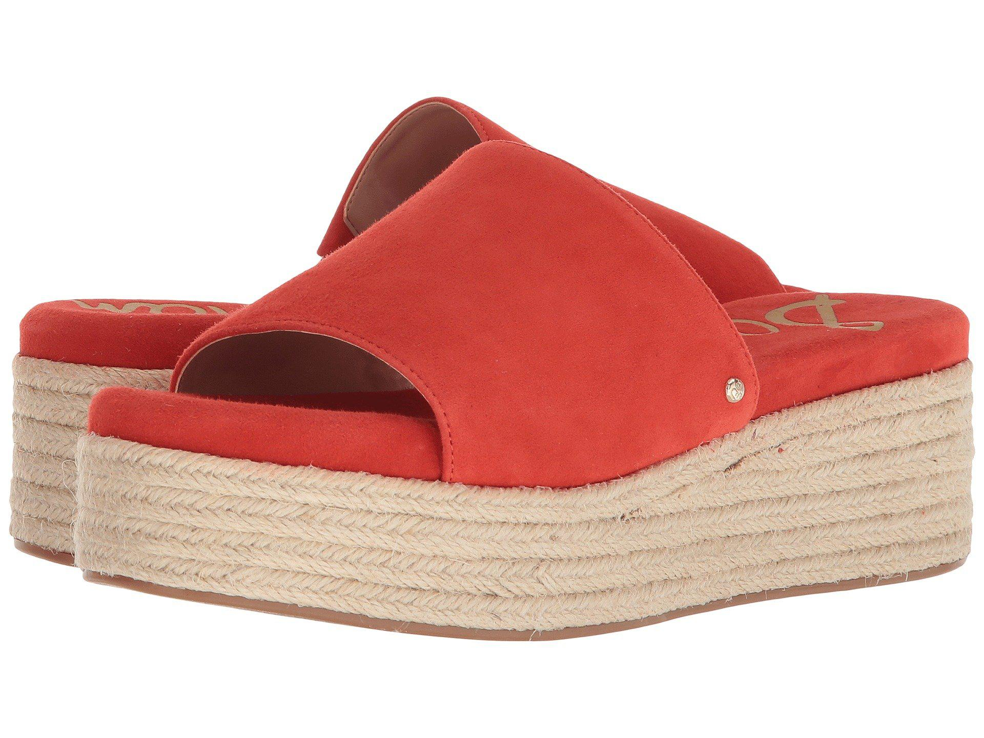 6660f56d10ff Lyst - Sam Edelman Weslee in Red - Save 35%