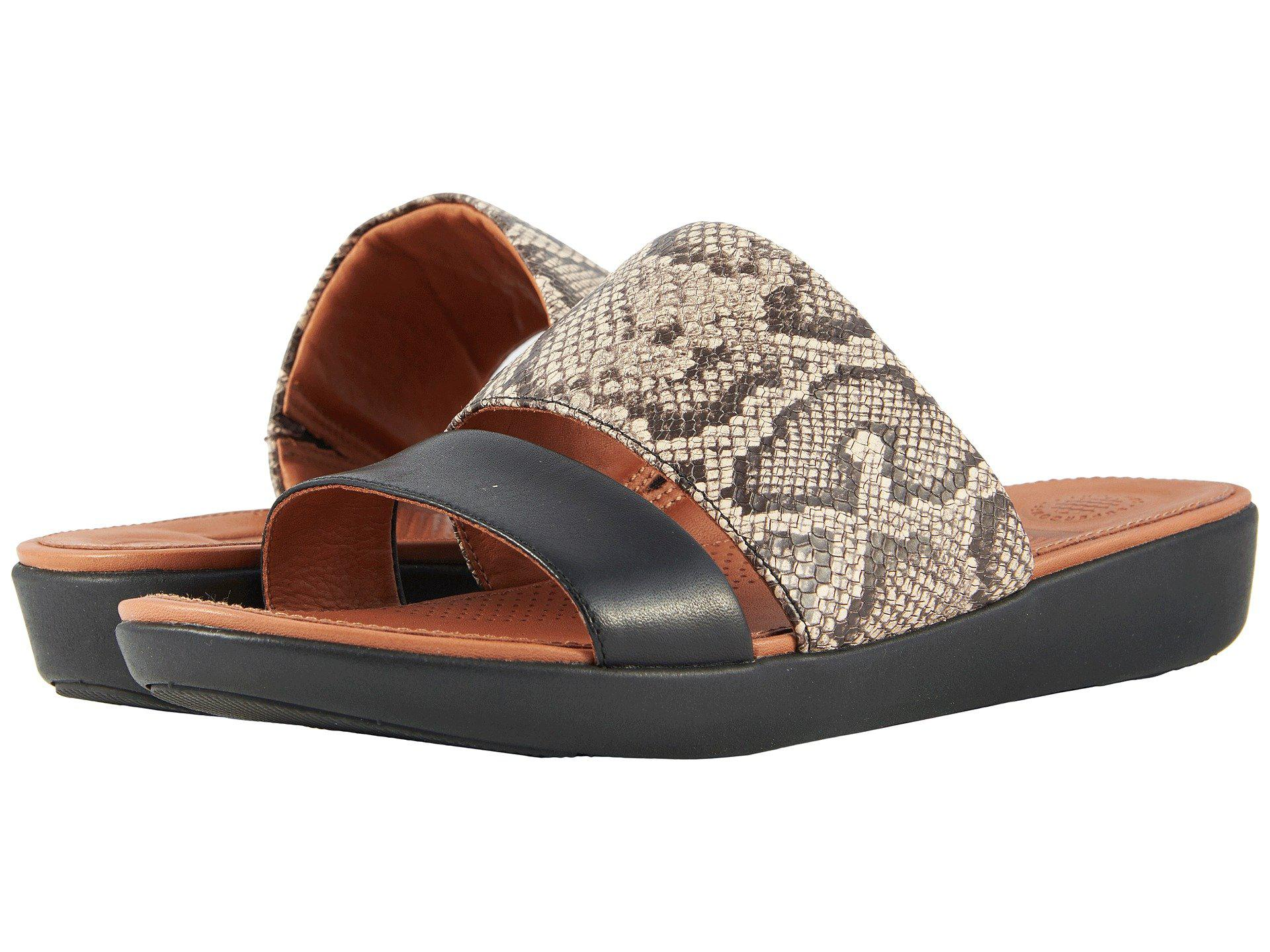 2ea25d23f Lyst - Fitflop Delta Slide Sandals - Save 23%