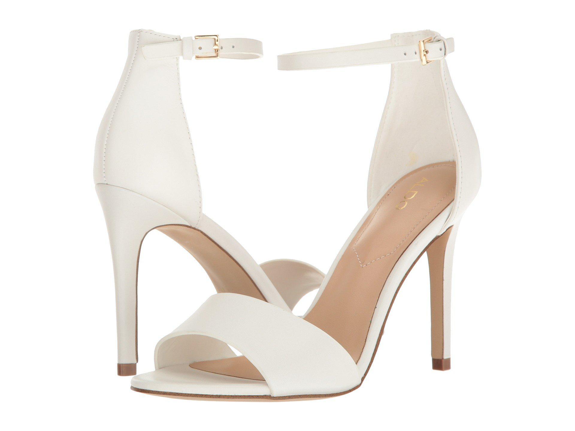 564689d66d2d Lyst - ALDO Fiolla Dress Sandal in White