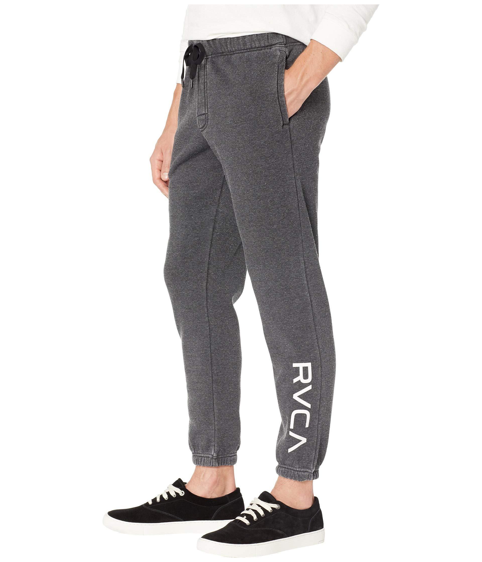 ce4d2ce26 Lyst - RVCA Va Guard Fleece Sweatpants in Black for Men