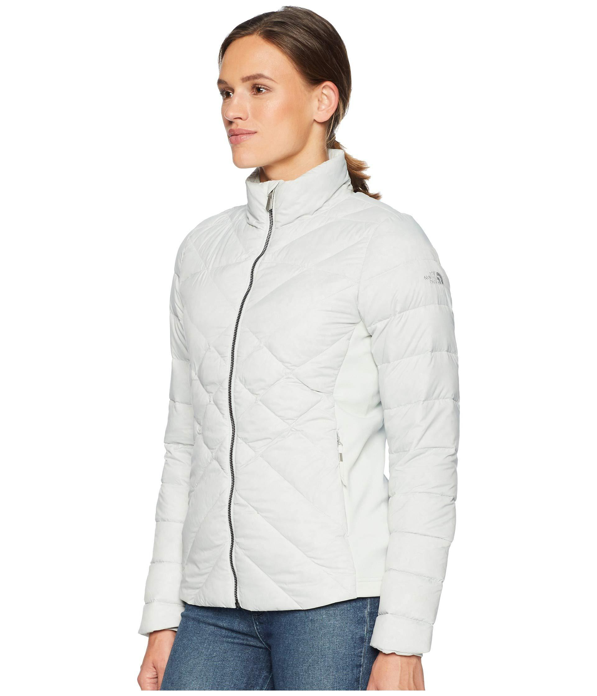 edbee3e44d4b Lyst - The North Face Lucia Hybrid Down Jacket in Gray - Save 18%