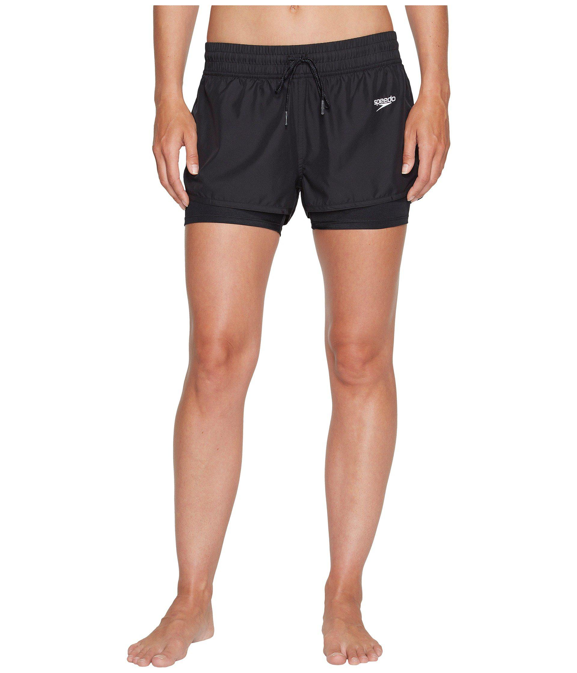 78800c5a76 Speedo - Black Hydro Volley Shorts - Lyst. View fullscreen