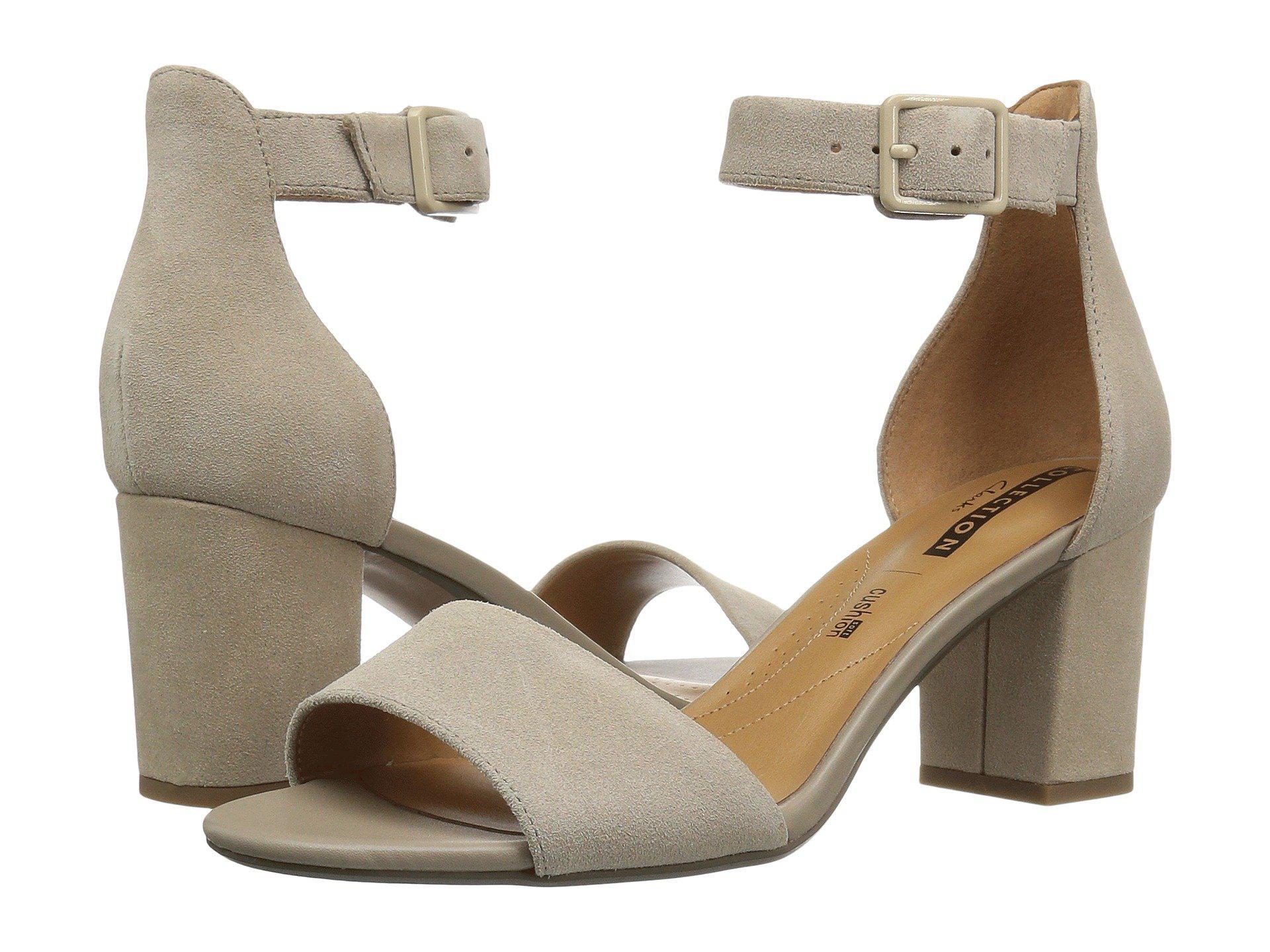 90f346dea8f8 Lyst - Clarks Deva Mae Dress Sandal in Natural - Save 18%