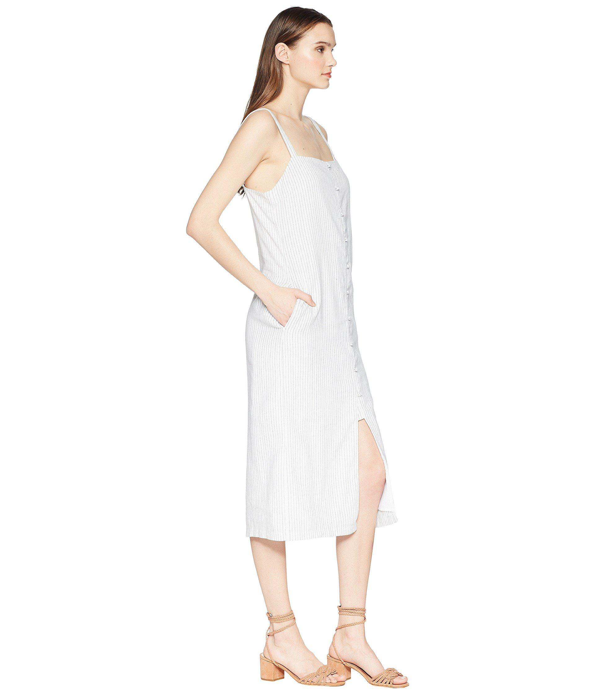 5b03aa2b6b Tavik - White Tara Midi Dress - Lyst. View fullscreen