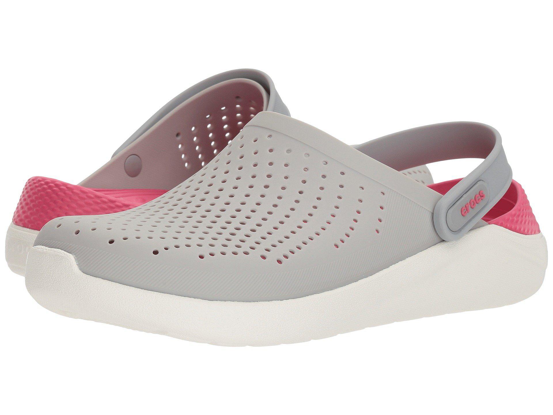 12e02c05c33b92 Lyst - Crocs™ Literide Clog in White - Save 29%