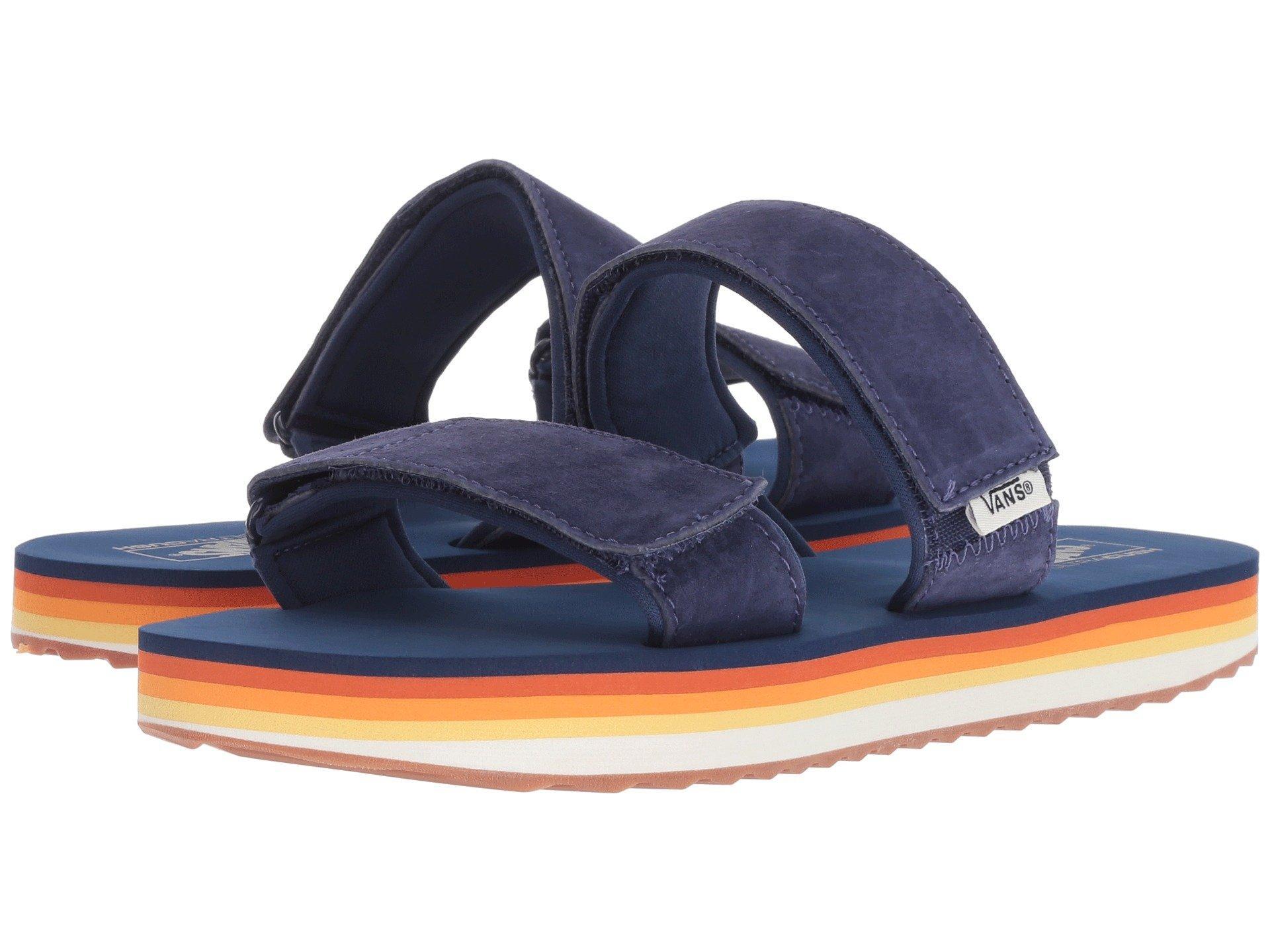 Lyst - Vans Cayucas Slide Platform in Blue - Save 13% 6b2bf42f7