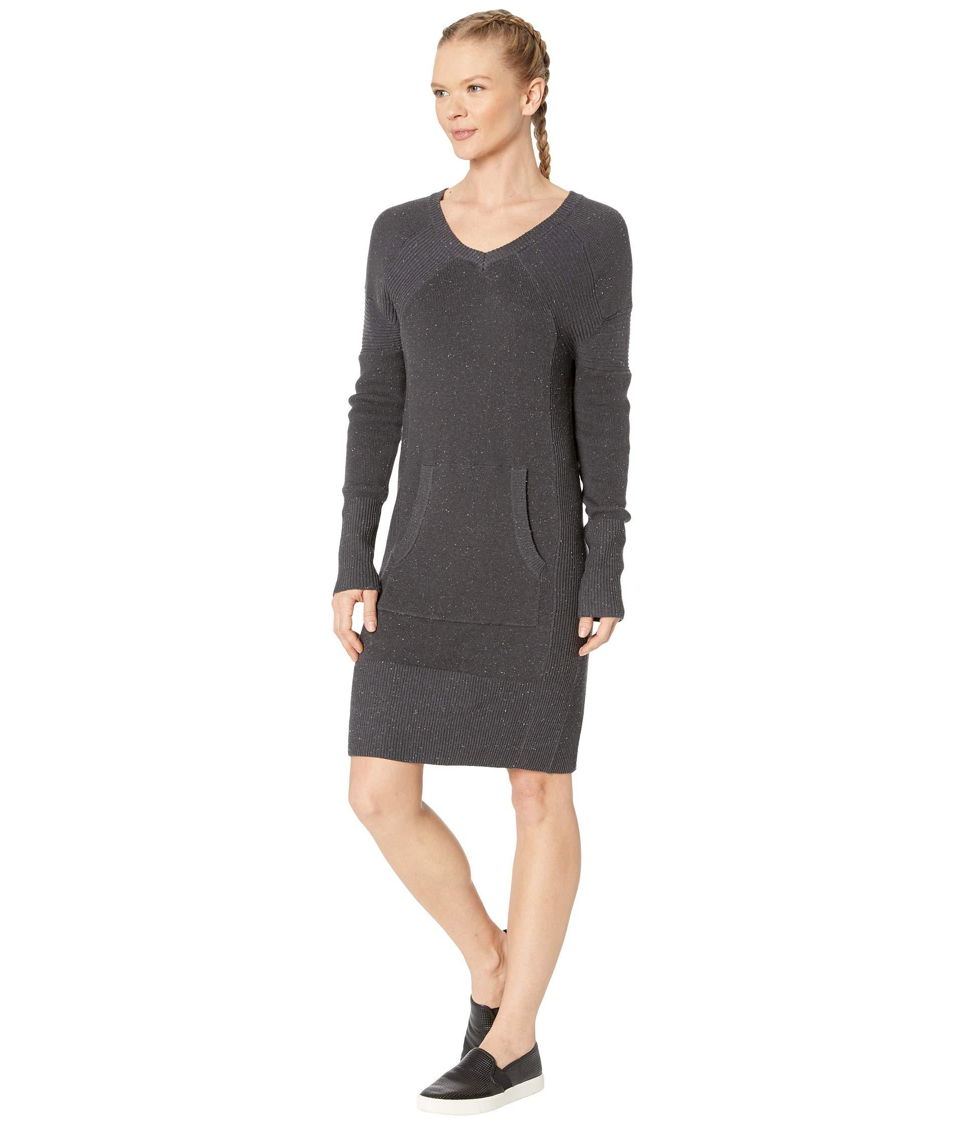 0a78f3988ce1 Lyst - Prana Avalone Dress in Gray - Save 29%