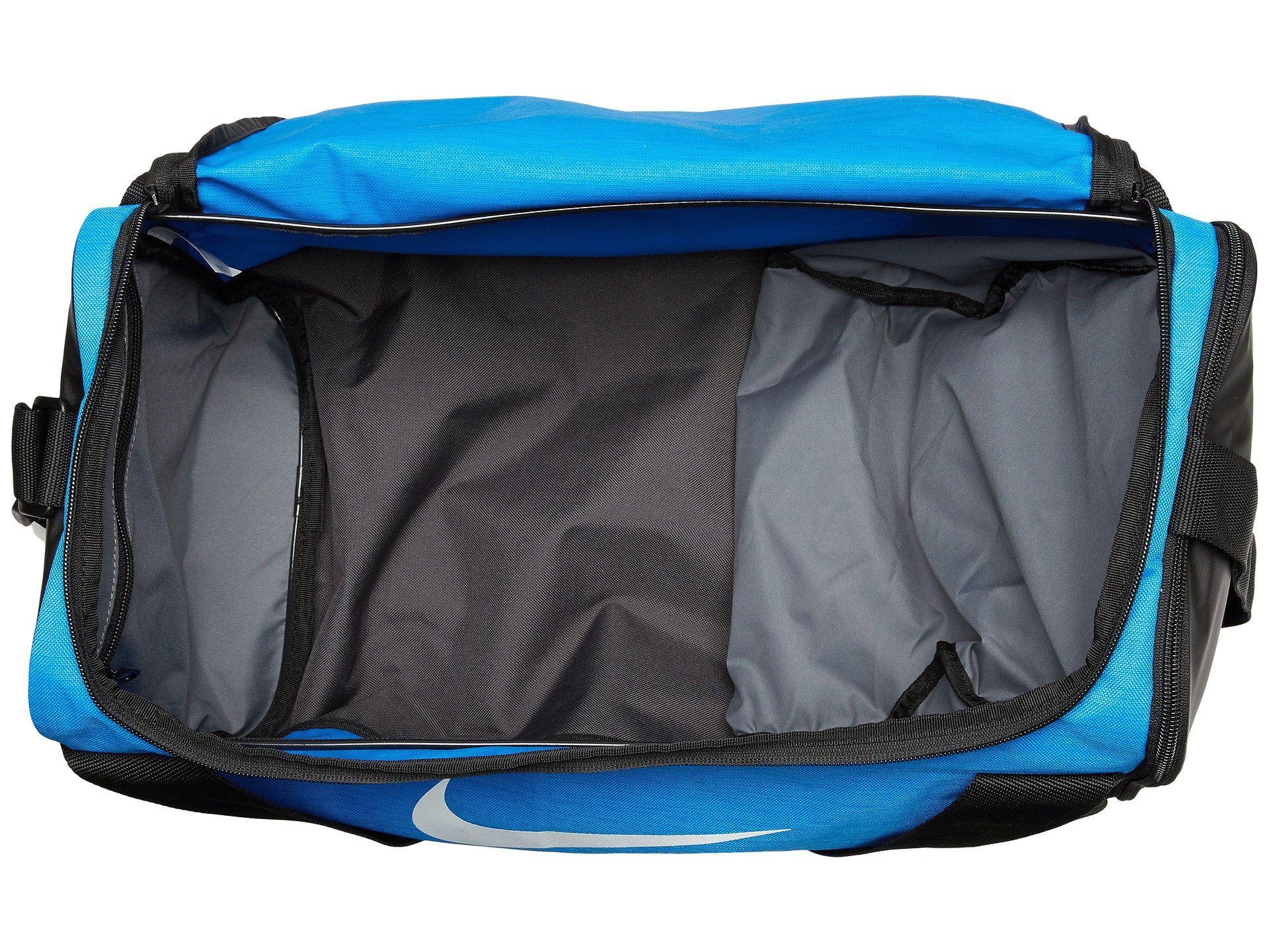 Light Blue Nike Duffel Bag
