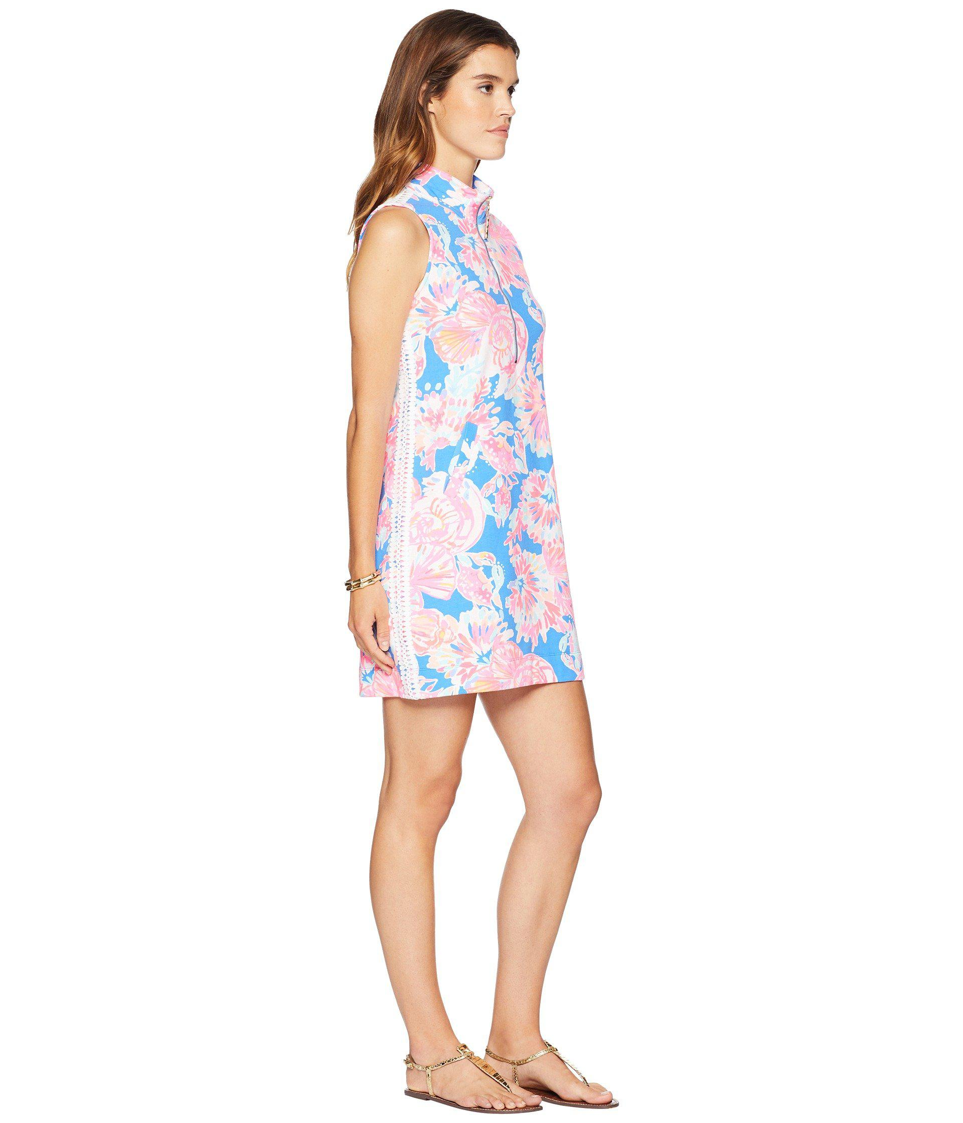 a9311a66dcd1c0 Lilly Pulitzer - Blue Skipper Sleeveless Dress - Lyst. View fullscreen