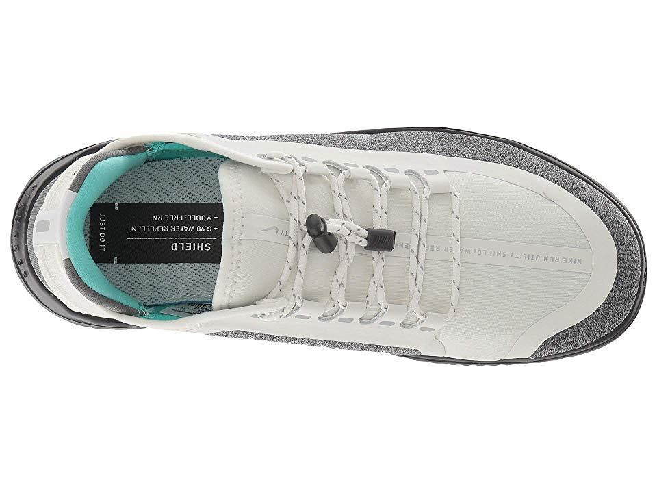 c38e1246fb Nike Free Rn 2018 Shield (summit White/metallic Silver/wolf Grey ...