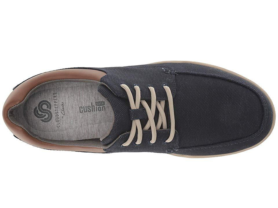 73477117 Clarks - Blue Step Isle Lace (navy Canvas) Shoes for Men - Lyst. View  fullscreen