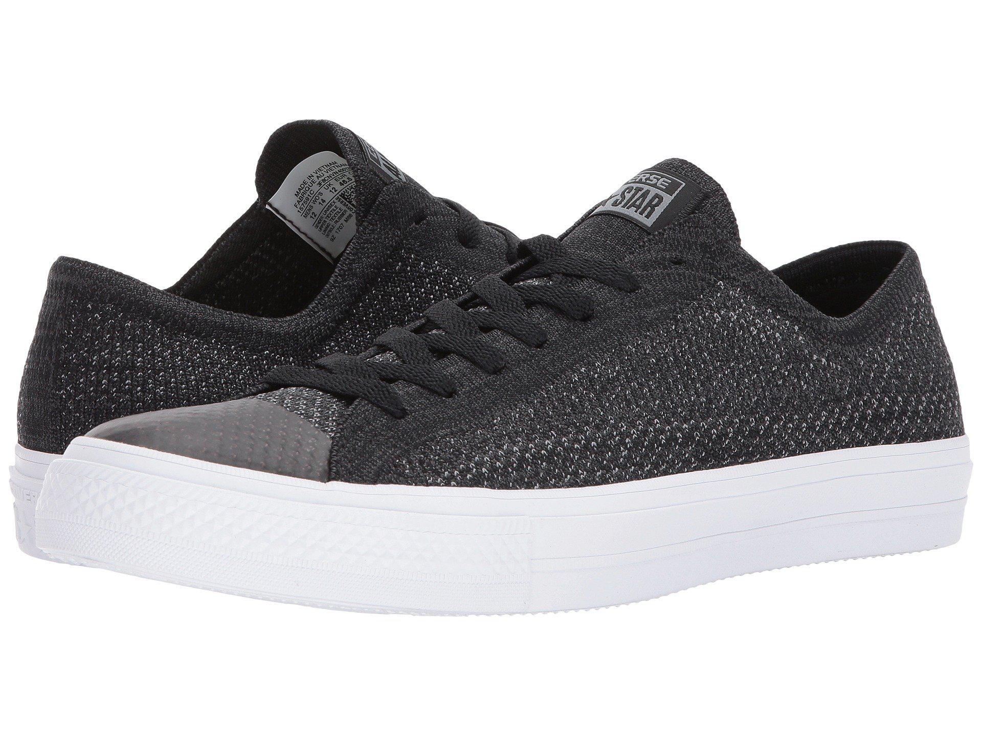 Lyst - Converse Chuck Taylor® All Star® X Nike Flyknit Ox in Black ... 8d4e9dac3
