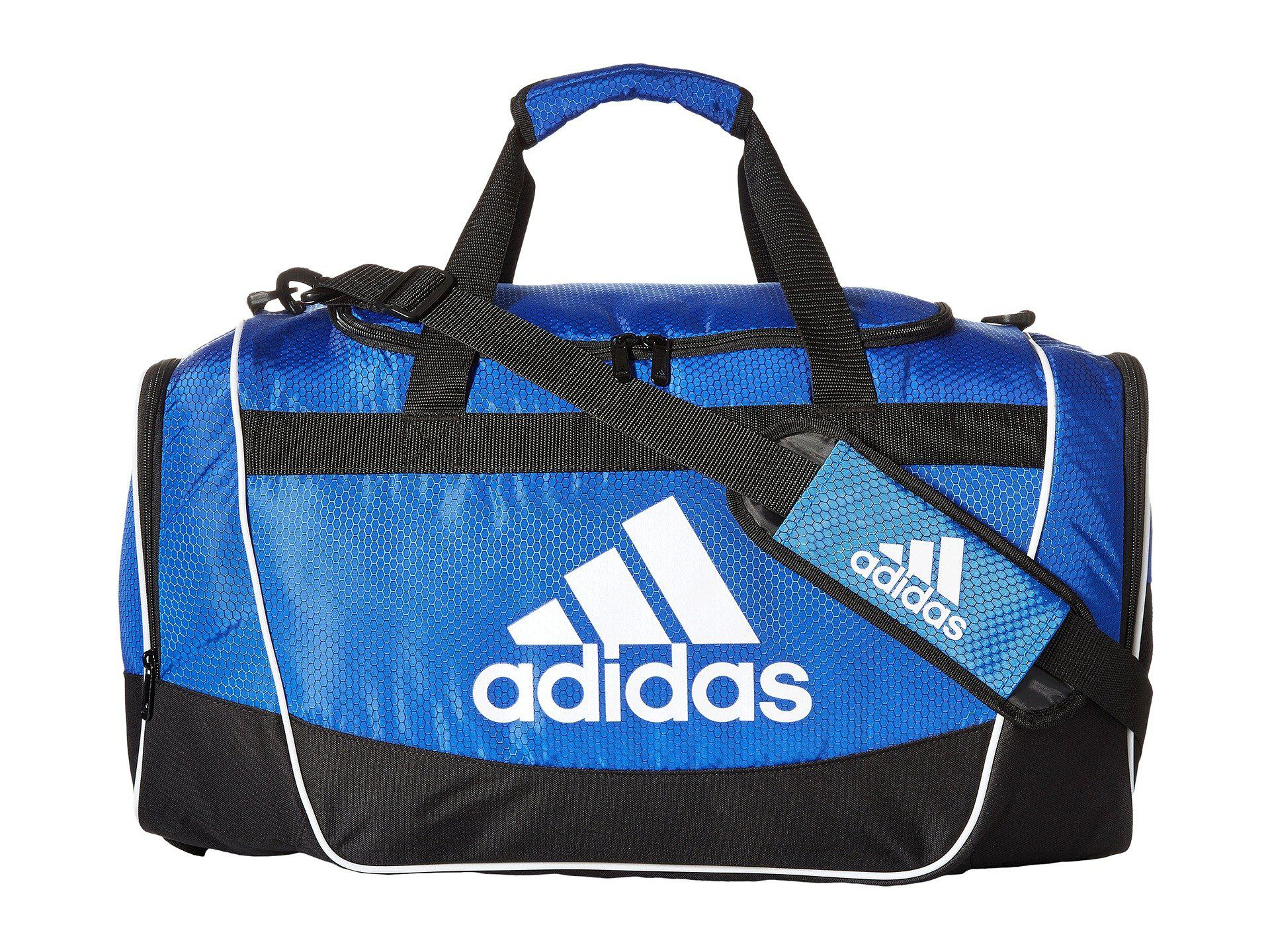 d8ad83140f Adidas - Blue Defender Ii Small Duffel for Men - Lyst. View fullscreen