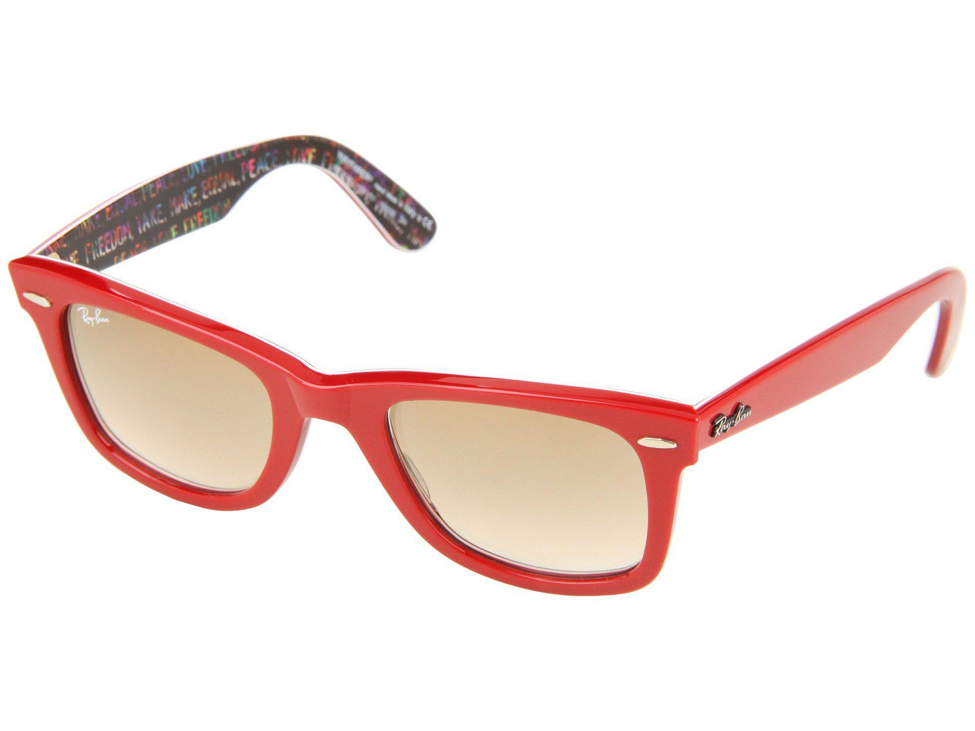 e459d96487 ... new zealand lyst ray ban rb2140 original wayfarer 50 medium in red  ac0c8 5756d