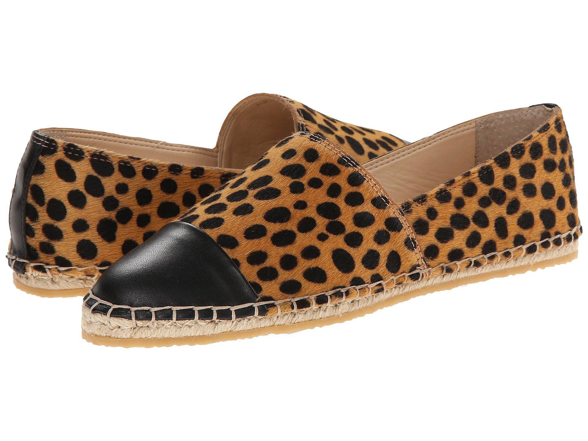 Loeffler Randall. Women's Brown Mara Calf Hair Espadrille Flats