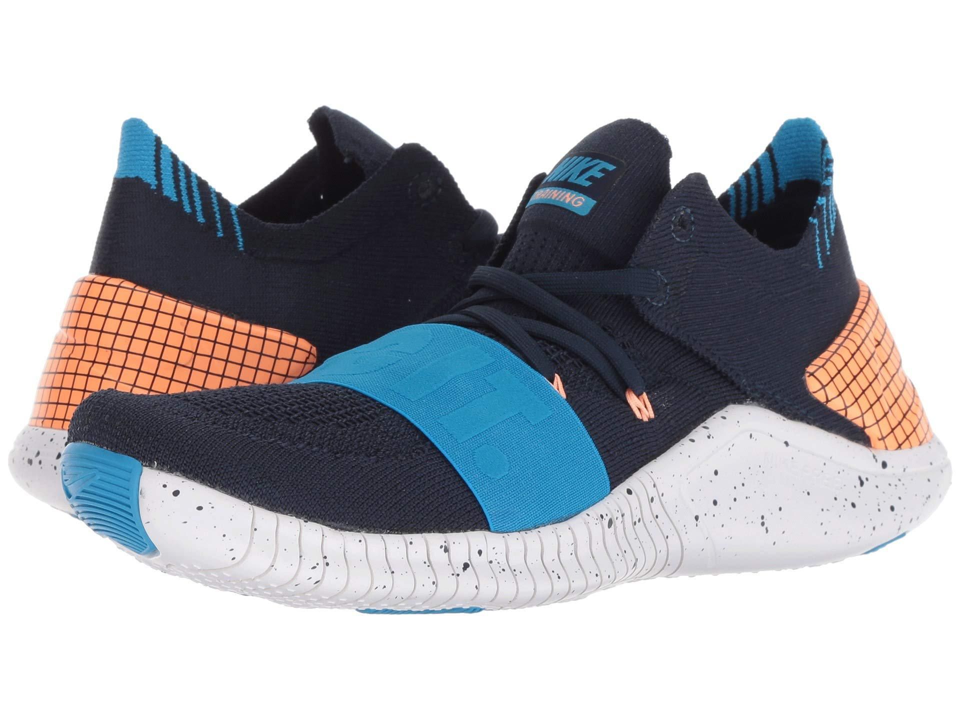 brand new 50fd1 c2b2c Nike. Womens Blue Free Tr Flyknit 3 Neo