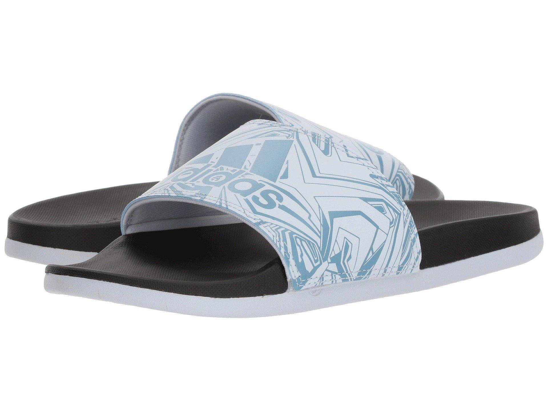 new style 92df8 5772f adidas. Womens Blue Adilette Cf+ Gr